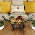 """*Round Structure Fruit Bowl - 10"""" x 23"""""""
