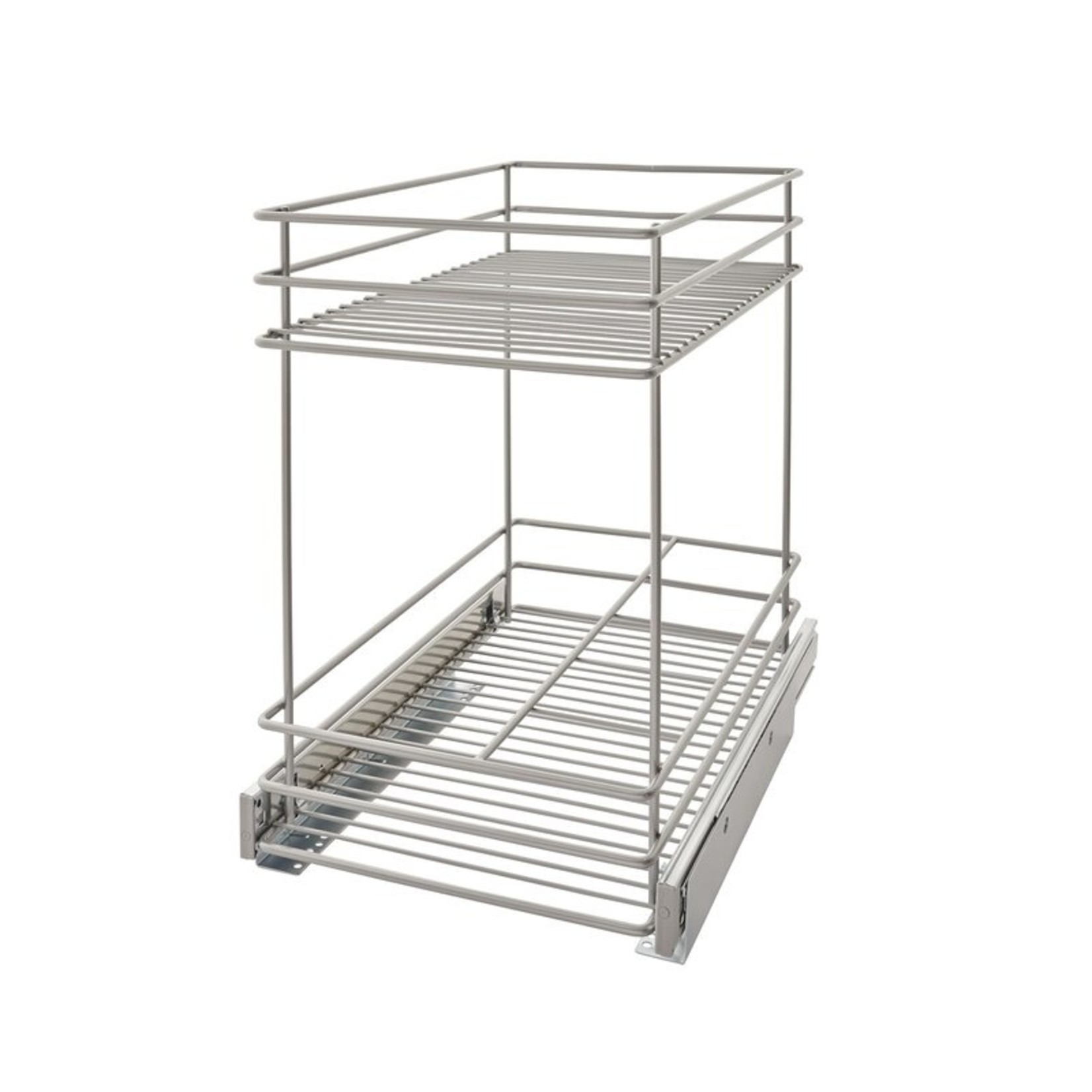 *2 Tier Kitchen Cabinet Pull Out Drawer
