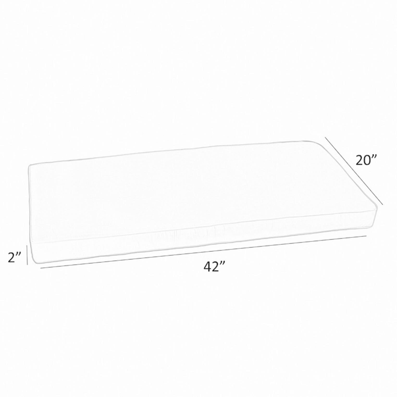 *Indoor/Outdoor Bench Cushion - Navy