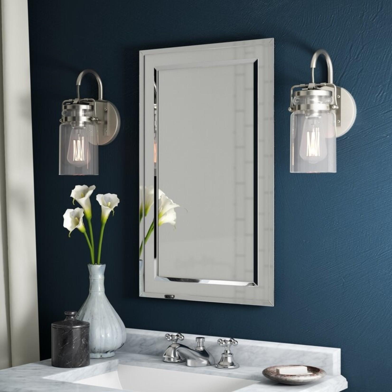 *Graford Recessed Frameless Medicine Cabinet with 2 Adjustable Shelves