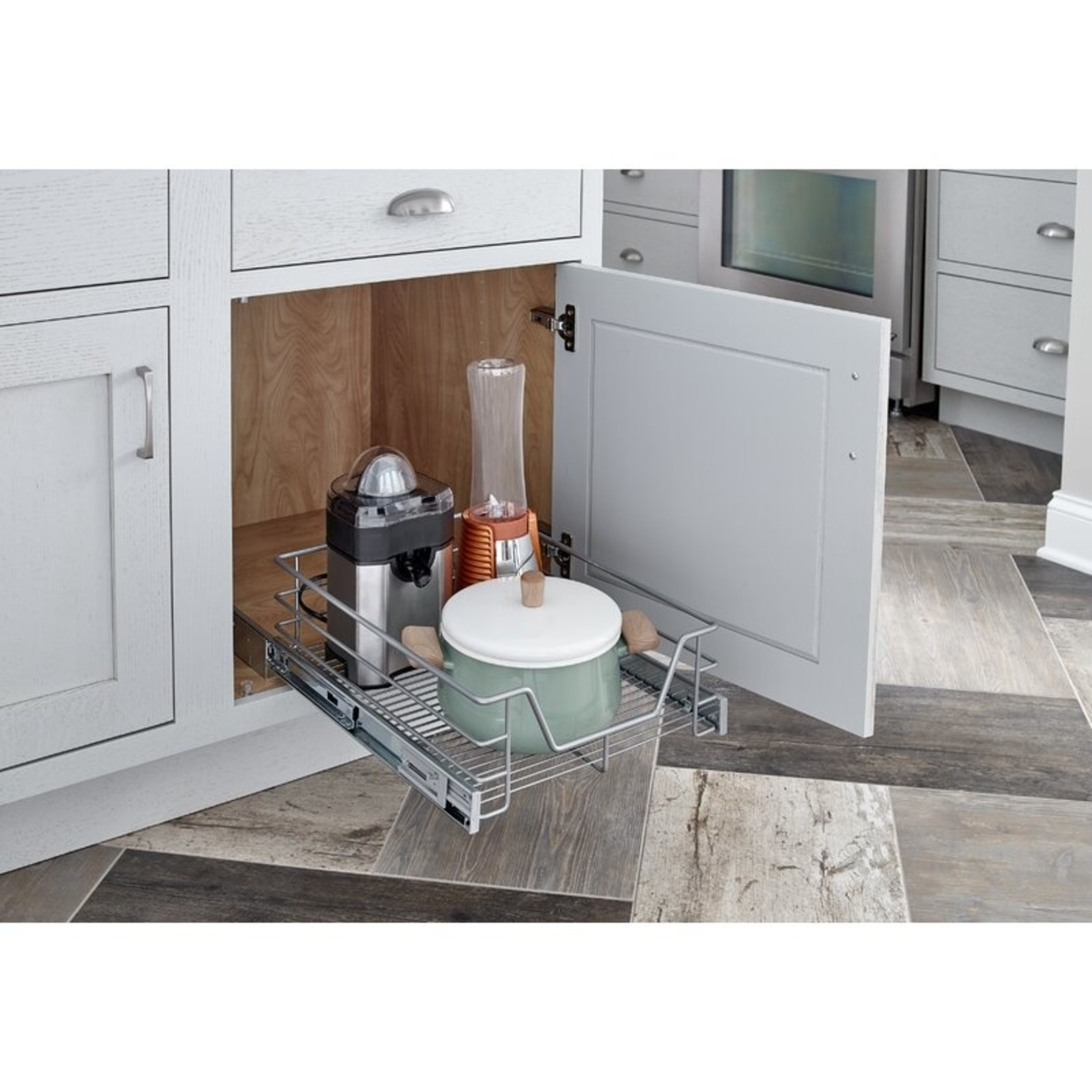 """*Single Tier Cabinet Pull Out Drawer 6.3""""H x 18""""1""""W x  18.86""""D"""