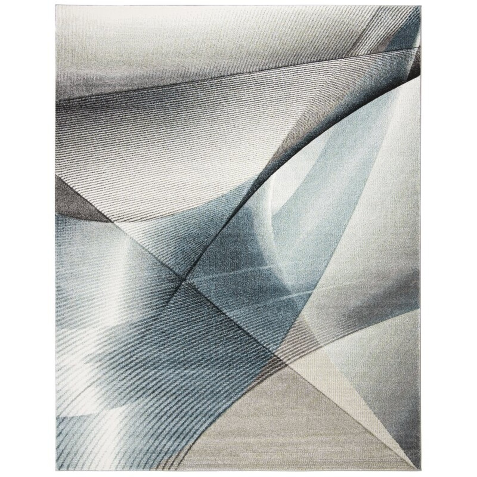 """*10'6"""" x 14' - Anne Gray/Teal Area Rug"""