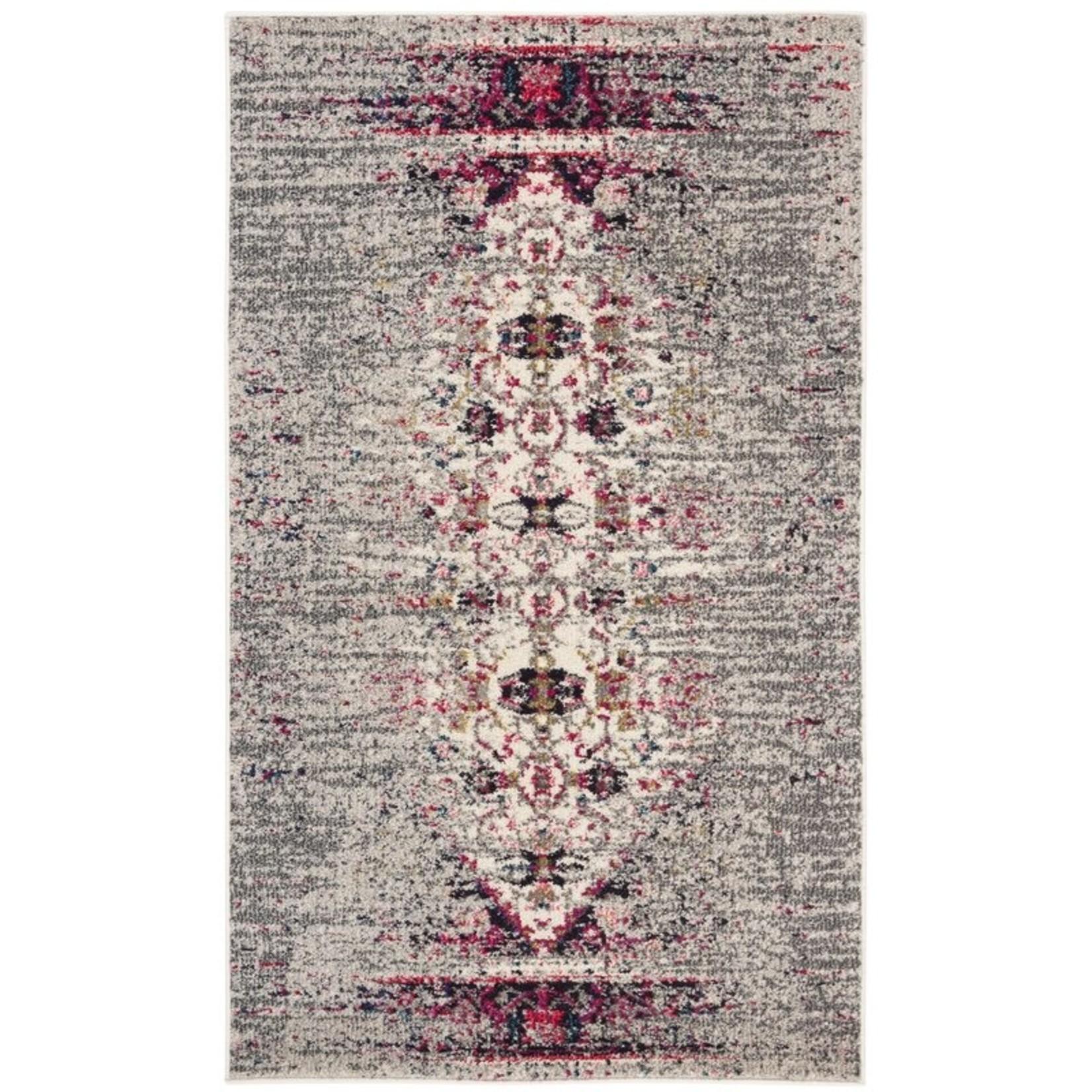 *10' x 14' - Goetz Oriental Grey/Ivory Area Rug