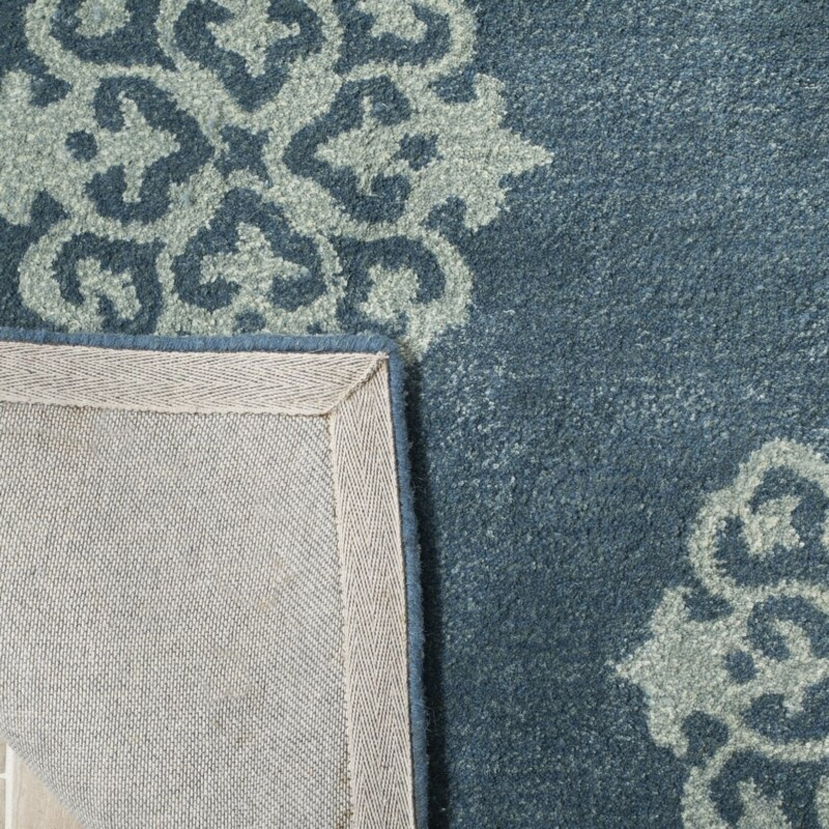 """*9'6"""" x 13'6"""" - Marcello Hand Tufted Blue Area Rug"""