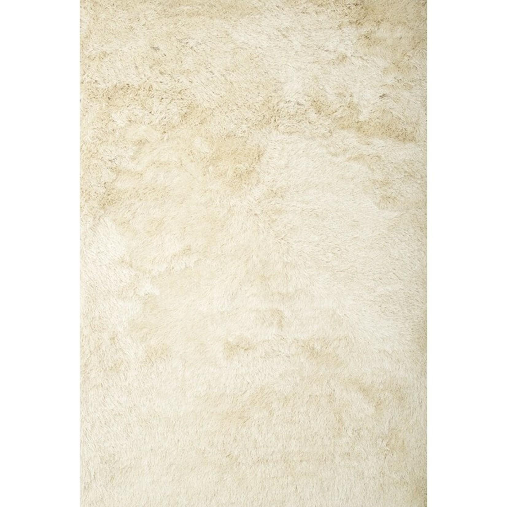 *5' x 8' - Yan Handmade Shag Ivory Area Rug