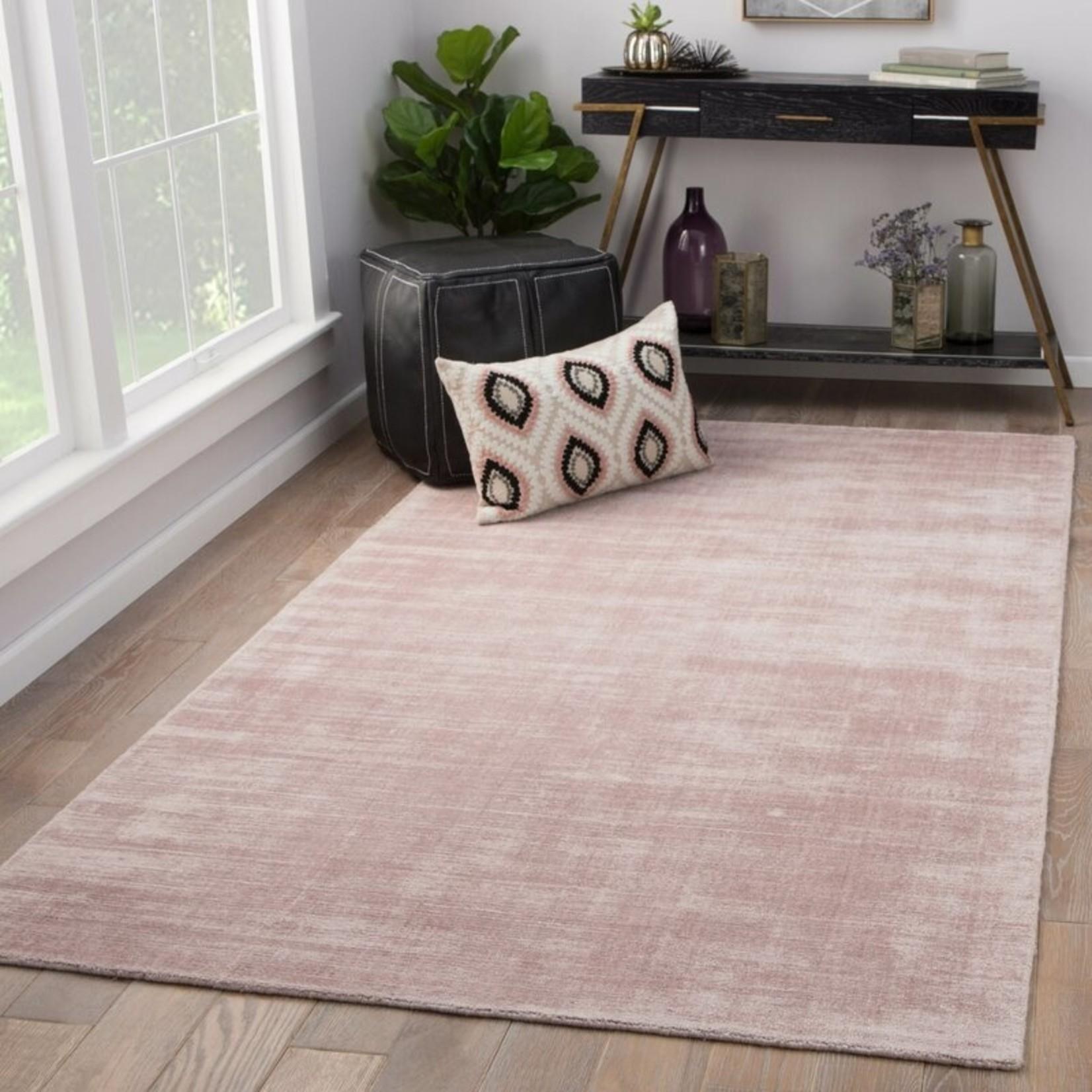 *8' x 10' - Hand-Loomed Pink Area Rug