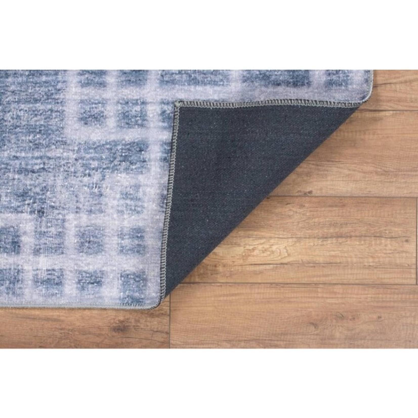*5' x 7' - Artloop AL 231 Non-Slip Cotton/Microfiber Area Rug-Rectangle