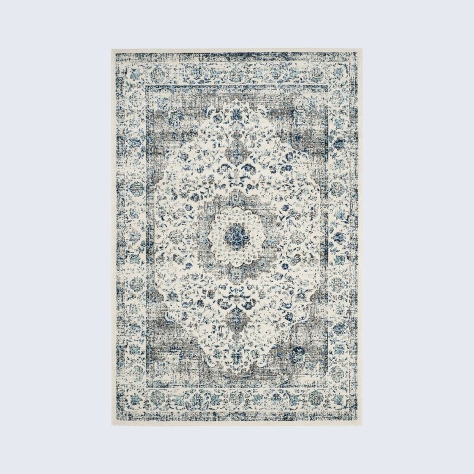 *11' x 15' - Heloise Ivory/Grey Area Rug