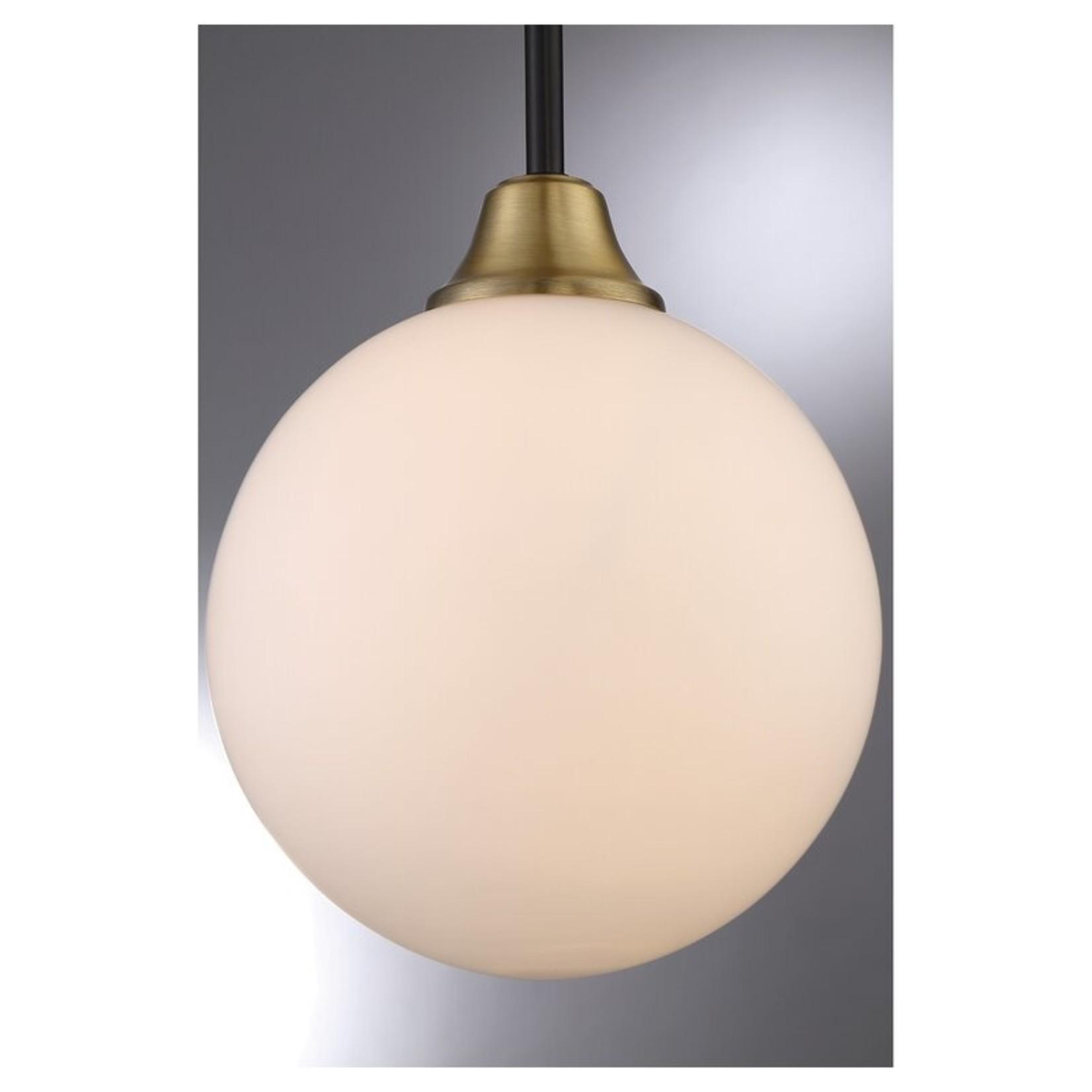*Haleigh 1-Light Single Globe Pendant
