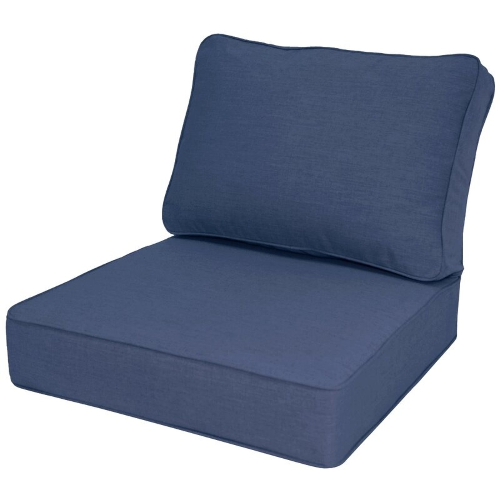 *Outdoor Sunbrella Seat/Back Cushion - Navy
