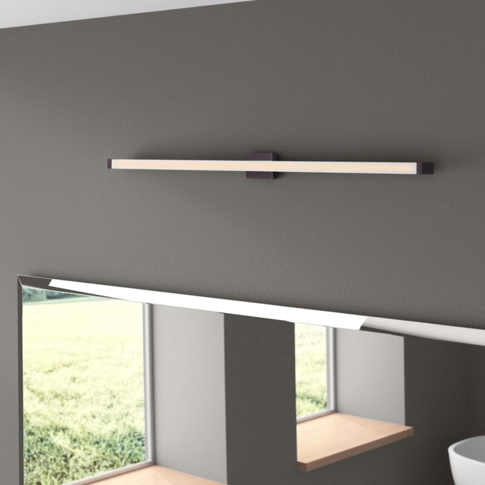 *Sydni 1-Light Dimmable LED Bath Bar - Bronze