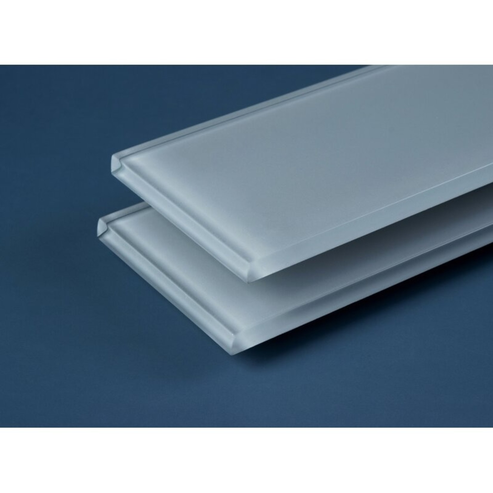 "*Premium 3"" x 9"" Glass Subway Tile - Moonlight Grey - 5 Sq. Ft."
