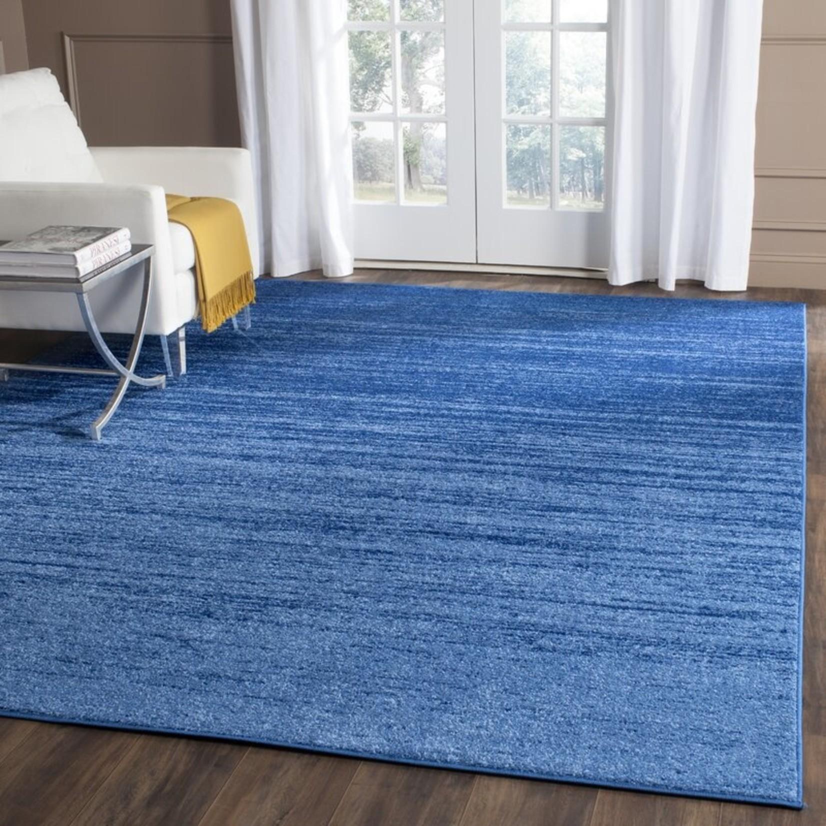 *4' x 6' - Lauren Light Blue/Dark Blue Area Rug