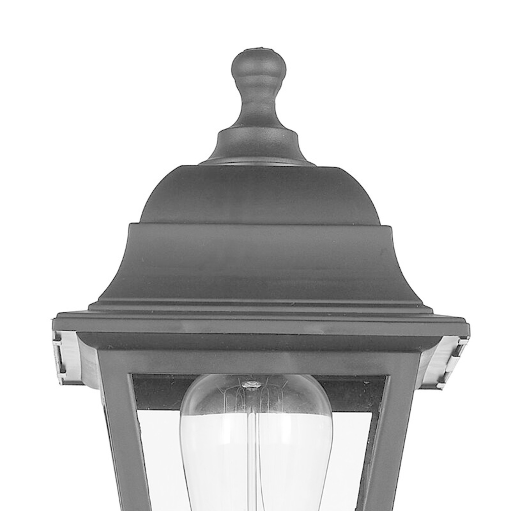 *Satin 1 - Bulb 13.7'' H Outdoor Armed Sconce - Set Of 2