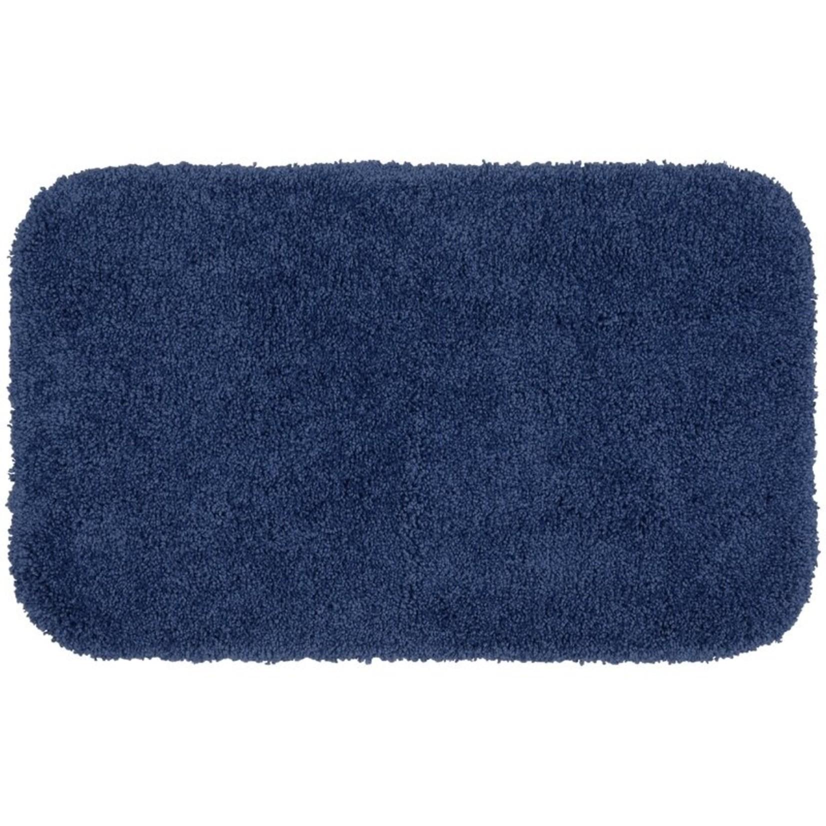"*30"" x 50"" Billie-Mae Rectangle Nylon Non-Slip Bath Rug - Navy"