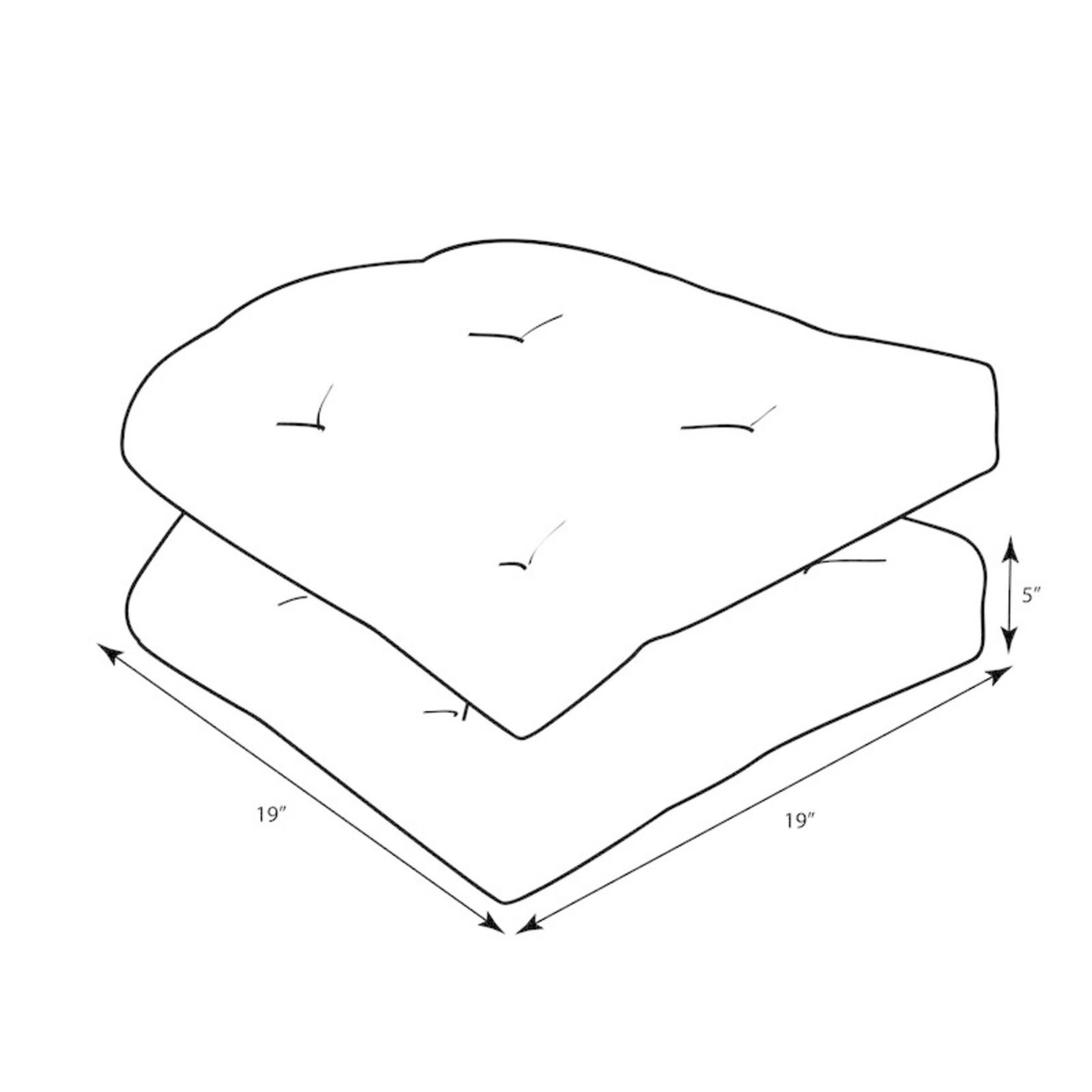 *Indoor/Outdoor Cushion - Set of 2