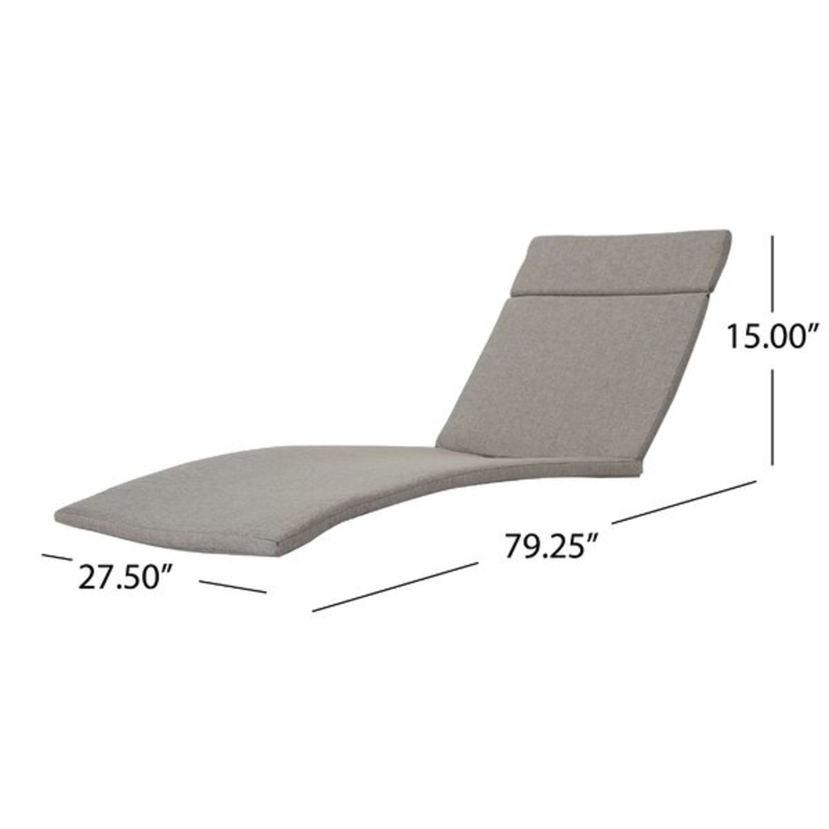 *Tallulah Outdoor Lounge Cushion - Orange
