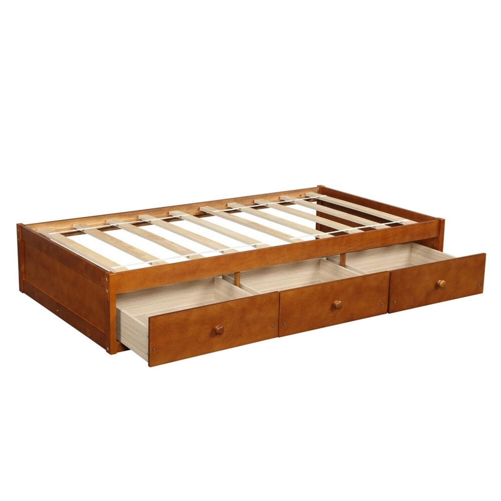 *Twin - Sohn 3 Drawer Solid Wood Platform Bed