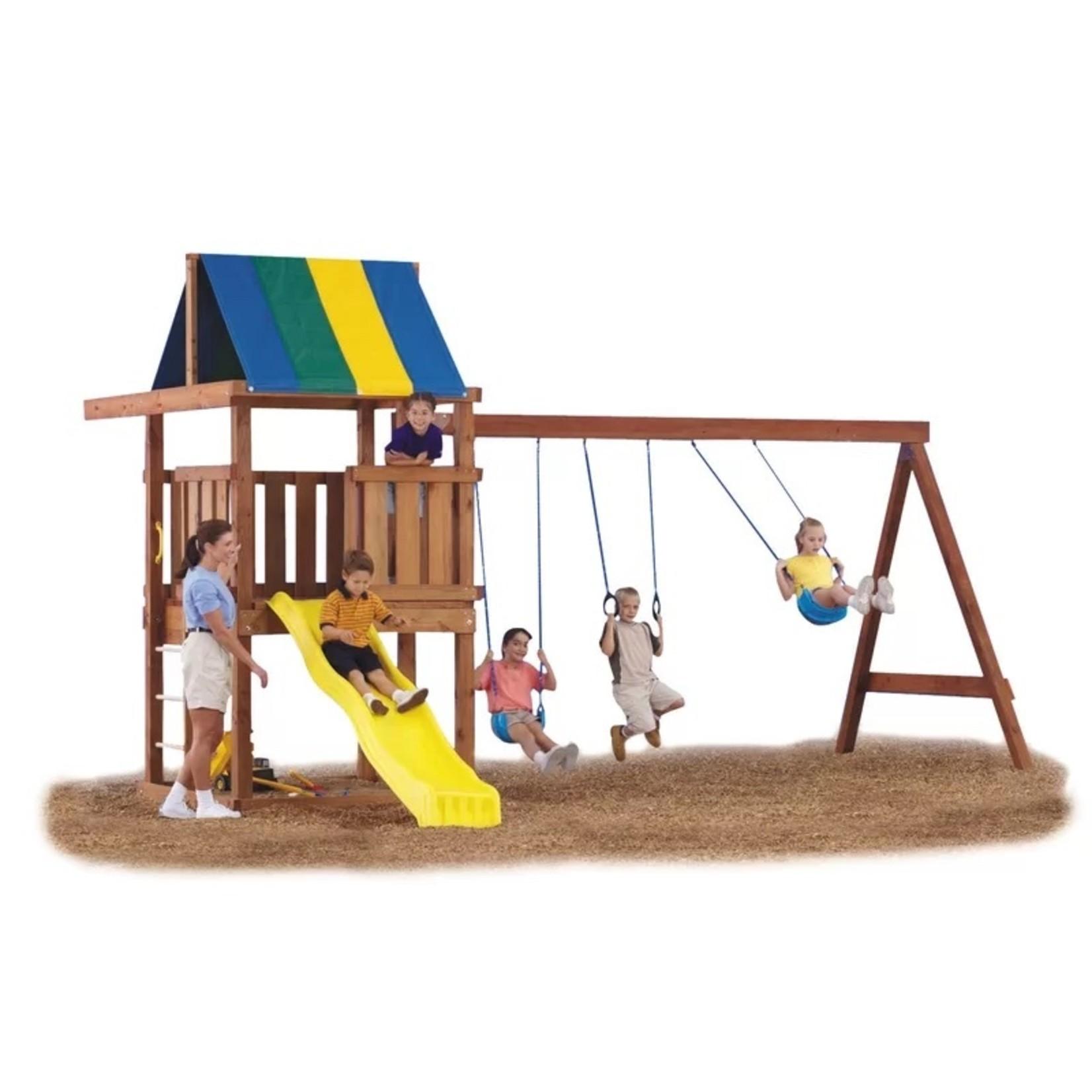 *Wrangler Custom DIY 12 Piece Swing Set Hardware Kit (Wood, Slide and Wood Screws Not Included)