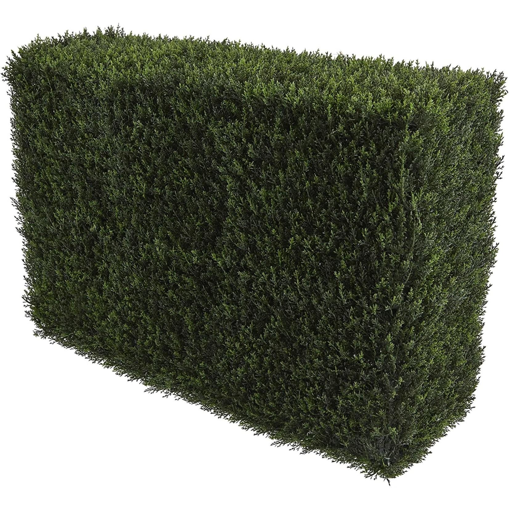 """*20"""" Artificial Cedar Hedge"""