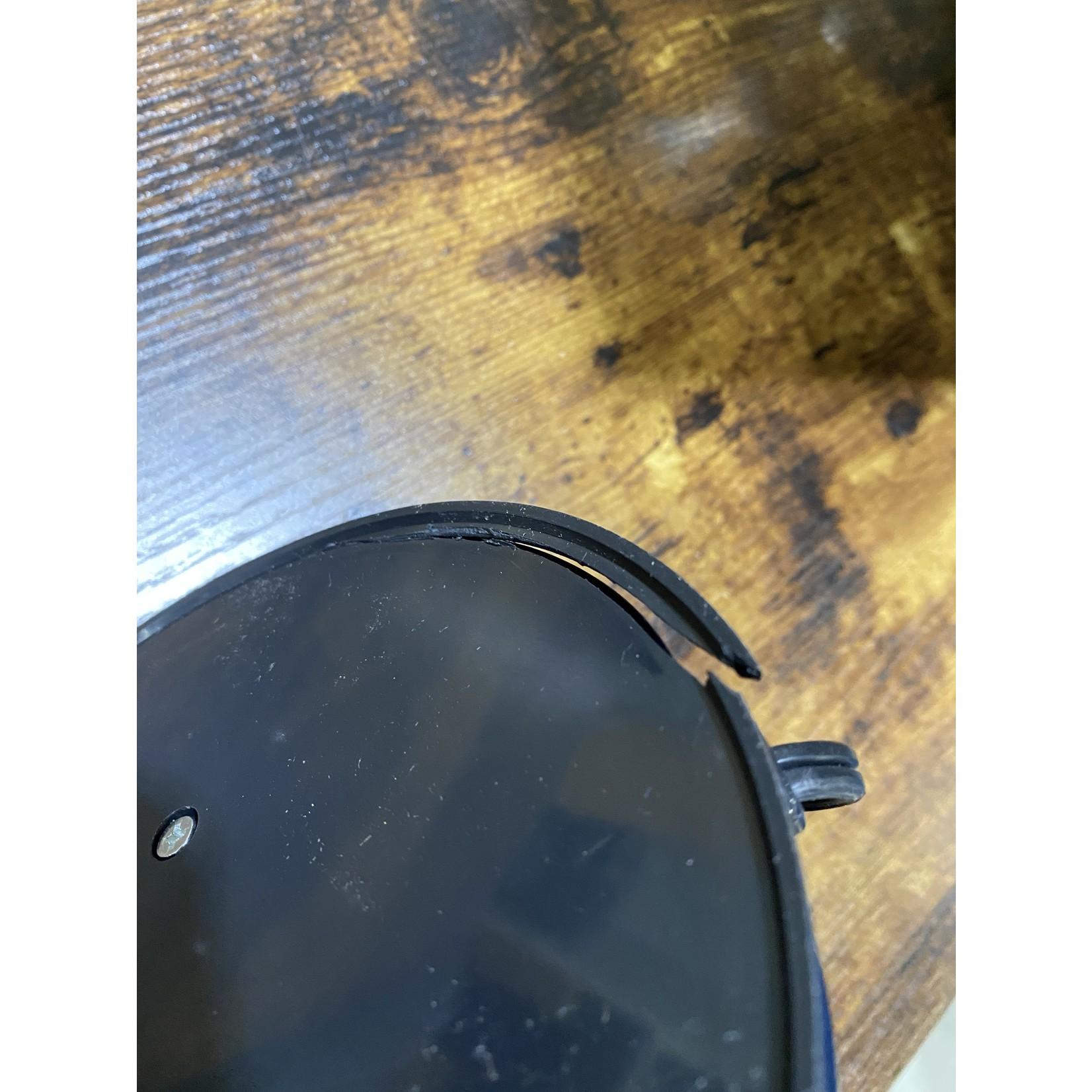 *Flexible Gooseneck Desk Lamp in Black - Cracked Bottom