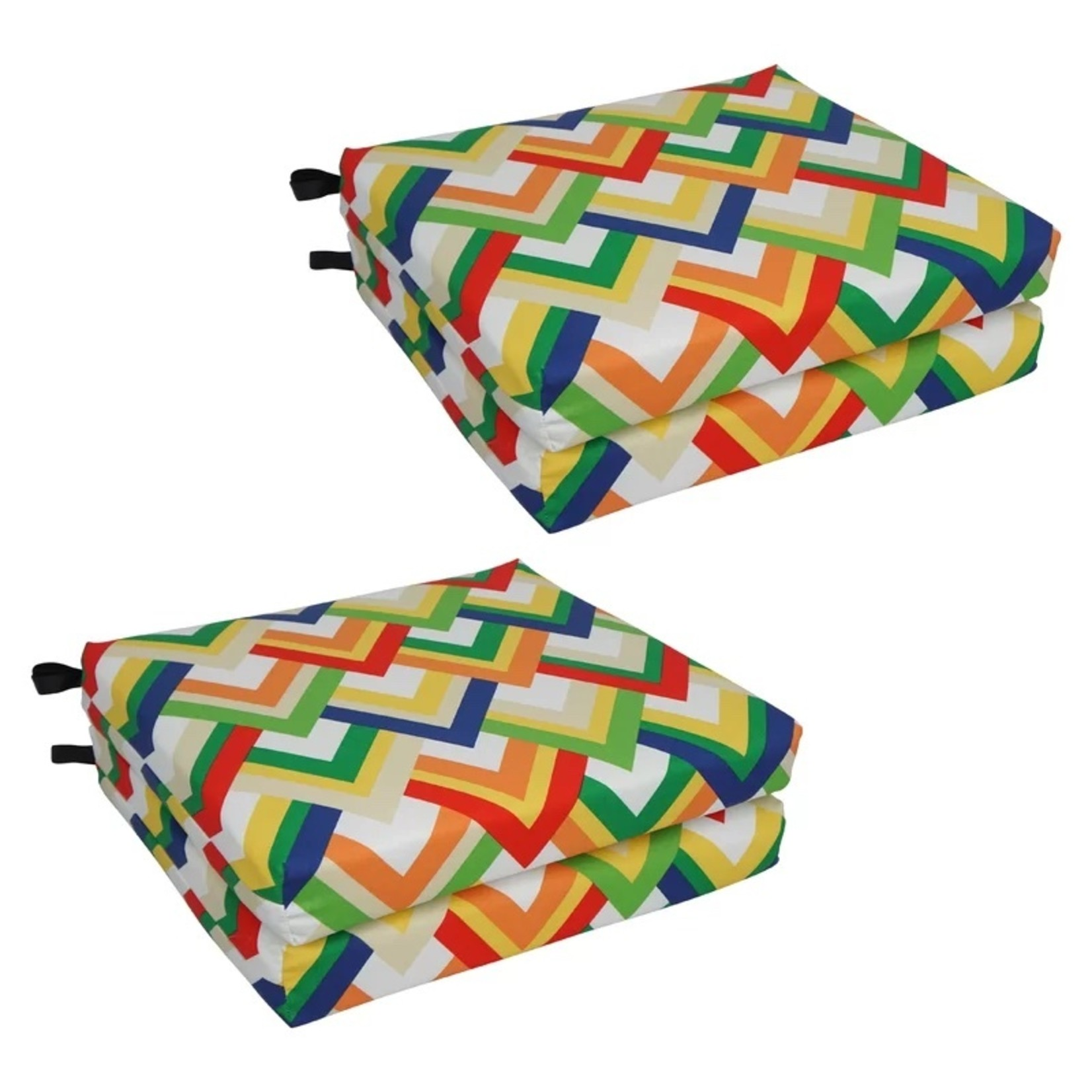 *Chair Outdoor Seat Cushion - Set of 4