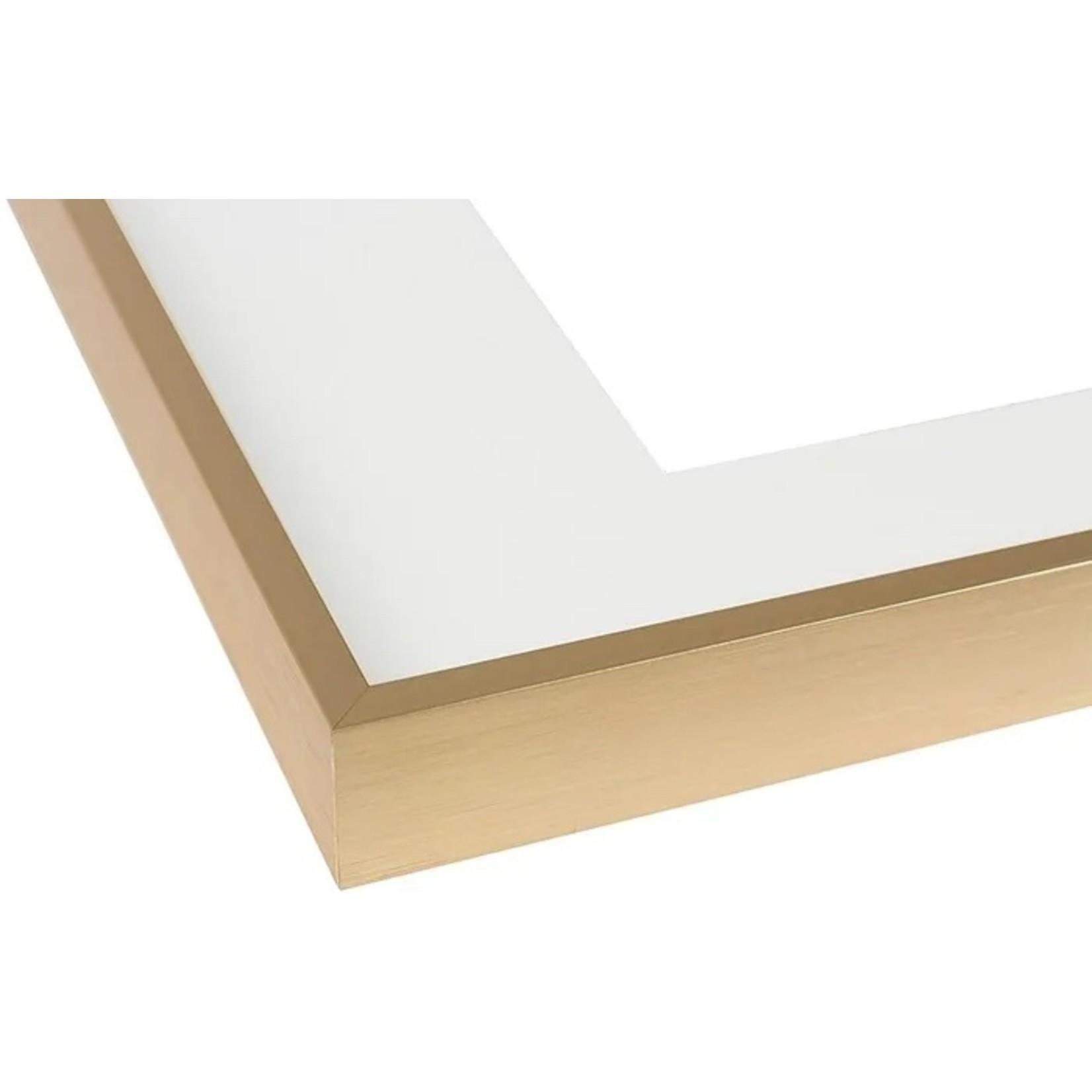 "*Aluminum Thin-Border Design Picture Frame - Gold - 16"" x 20"""