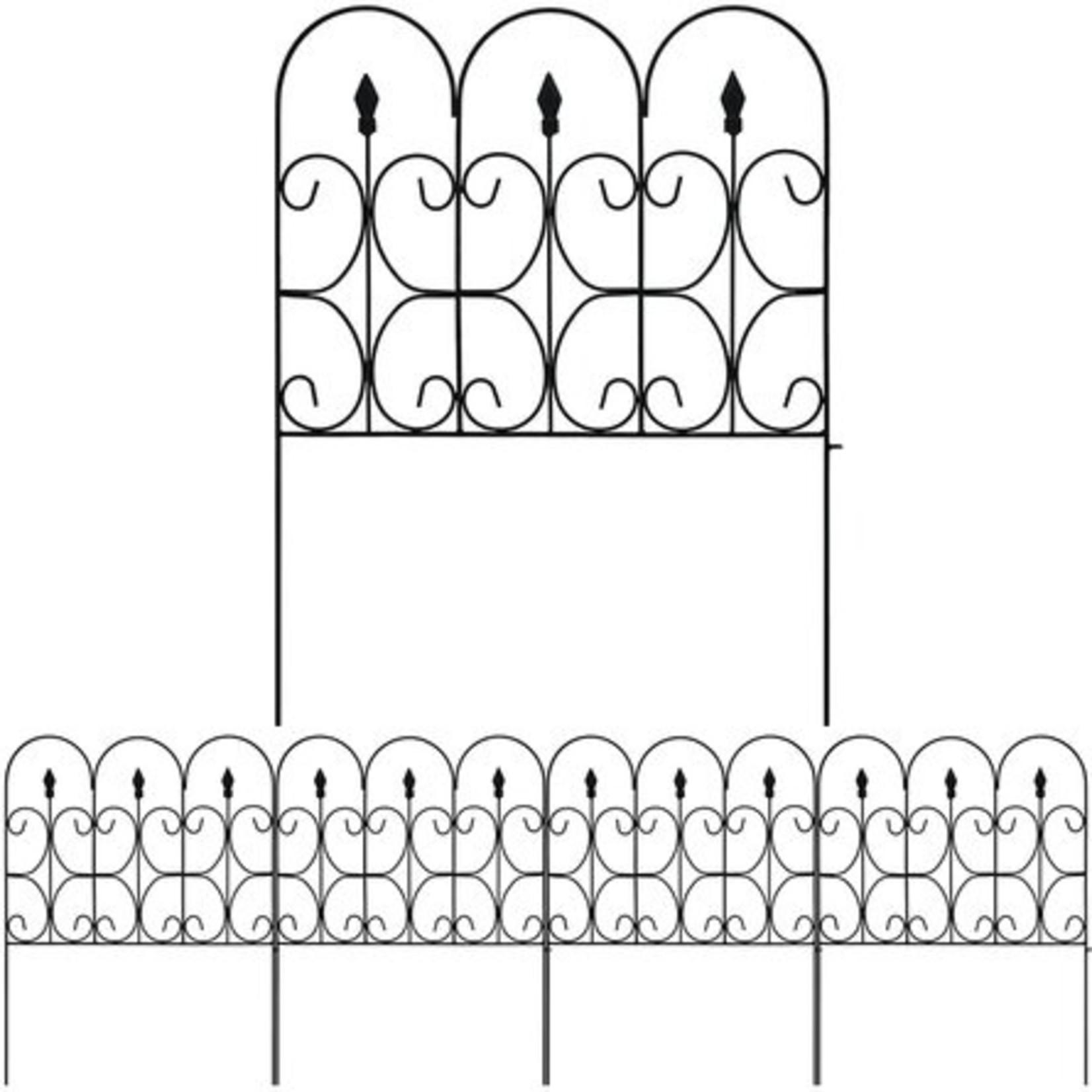 *Decorative Garden Fence Outdoor - 2' X 2' - Set of 5