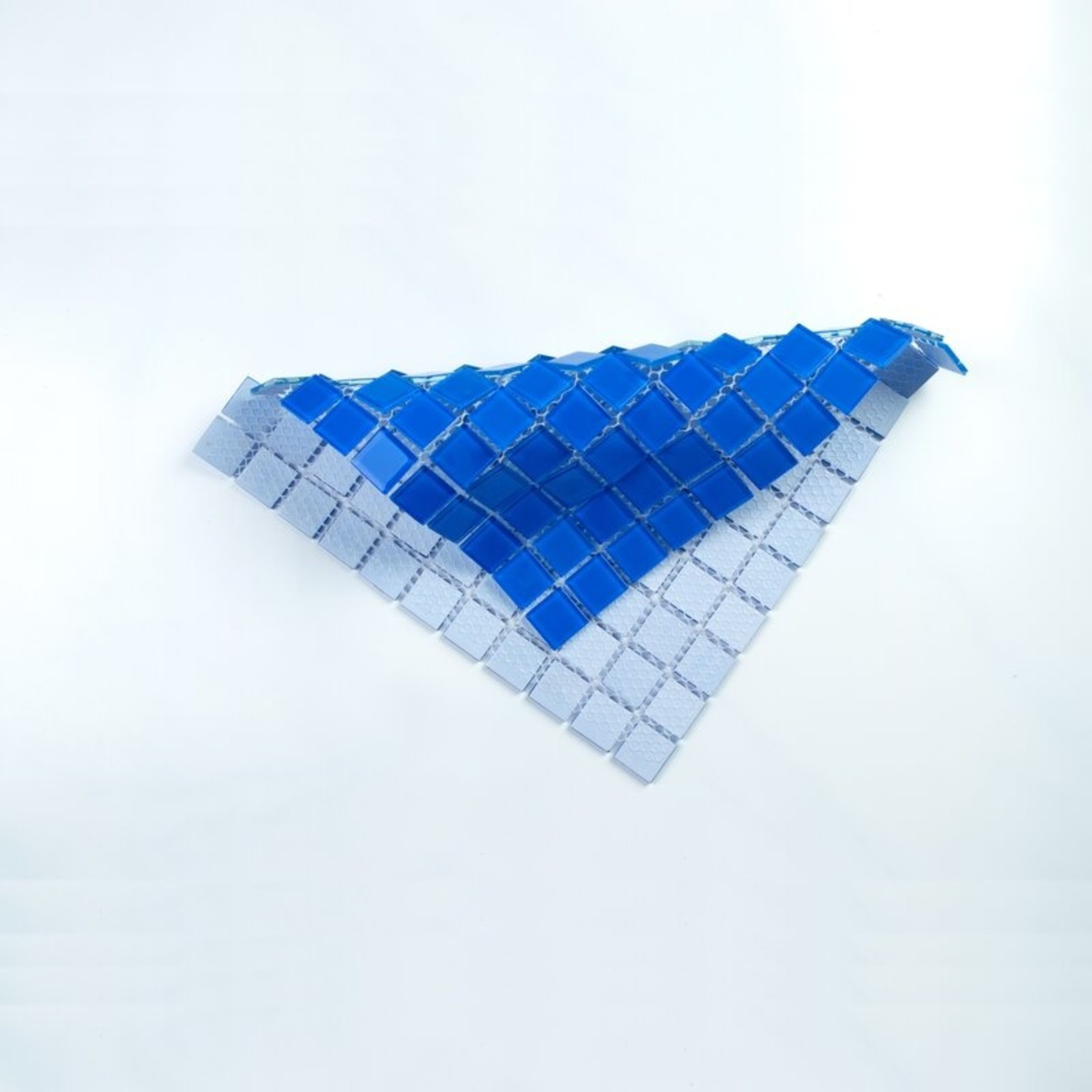 "*1"" x 1"" Glass Grid Mosaic Tile - 22 Sq.Ft."