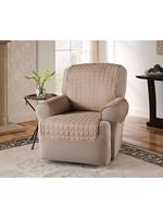*Box Cushion Armchair Slipcover - Natural - Final Sale