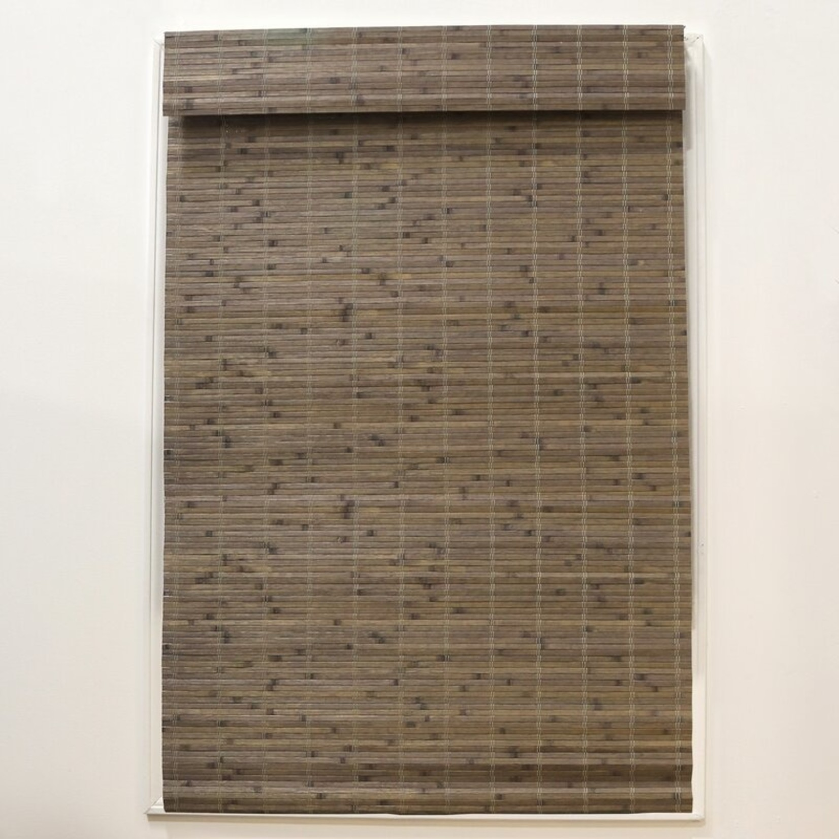 "*Gyala Cordless Flatstick Semi-Sheer Roman Shade - 29.5"" x 64"" - Driftwood - Final Sale"