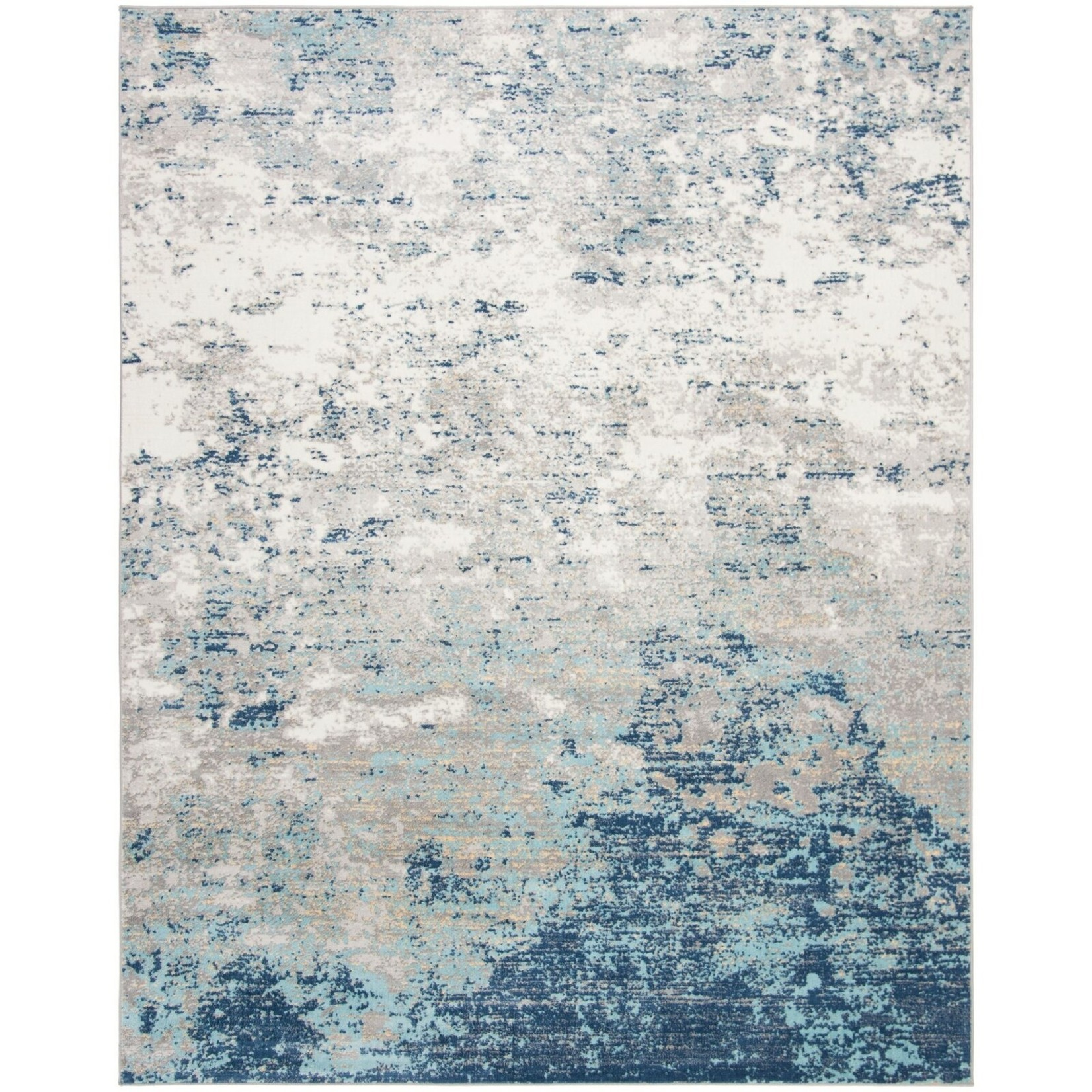 *12' x 18' - N'Keal Light Gray/Blue Rug