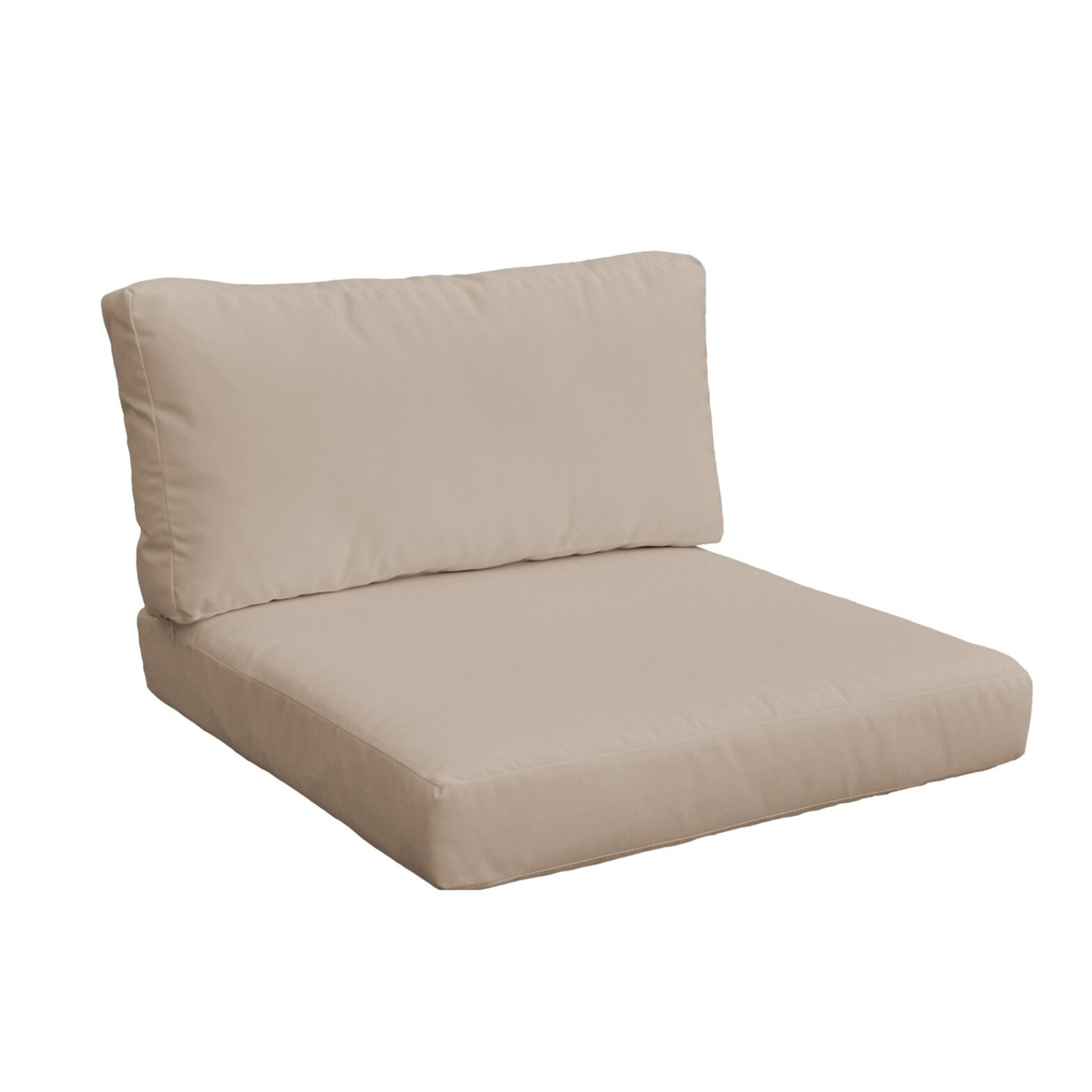 *6 Piece Outdoor Cushion Cover - Beige - Covers Only - Final Sale