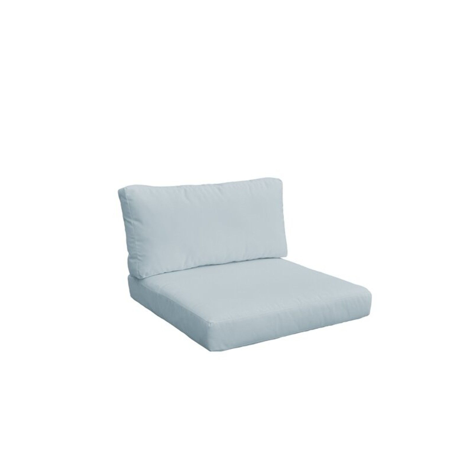 *7 Piece -  Fairfield  Indoor/Outdoor Cushion Covers  - Spa - Back Covers Only -  Final Sale