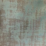 *3 yards - Oblique White Fabric - Teal - Final Sale