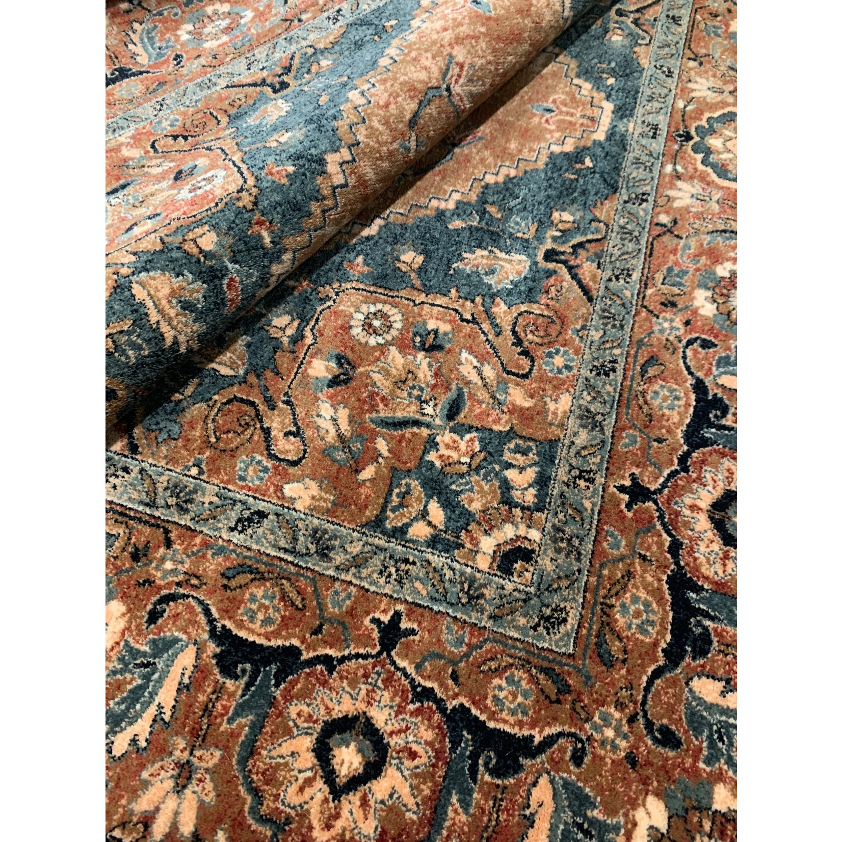 "* 6'6"" x 9'10"" - Hilma Antique Mashad Antique Wool Red Area Rug"