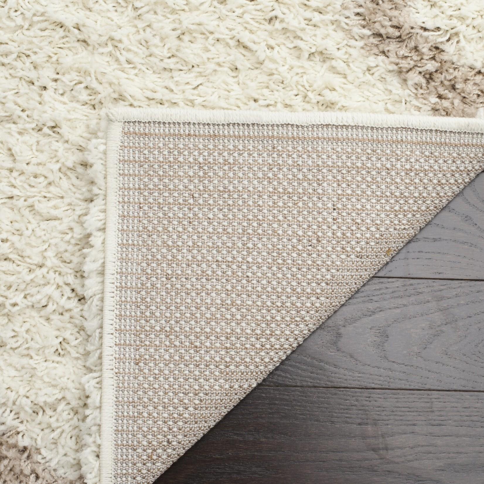 * 8' x 8' -  Lapidge Geometric Ivory/Beige Area Rug