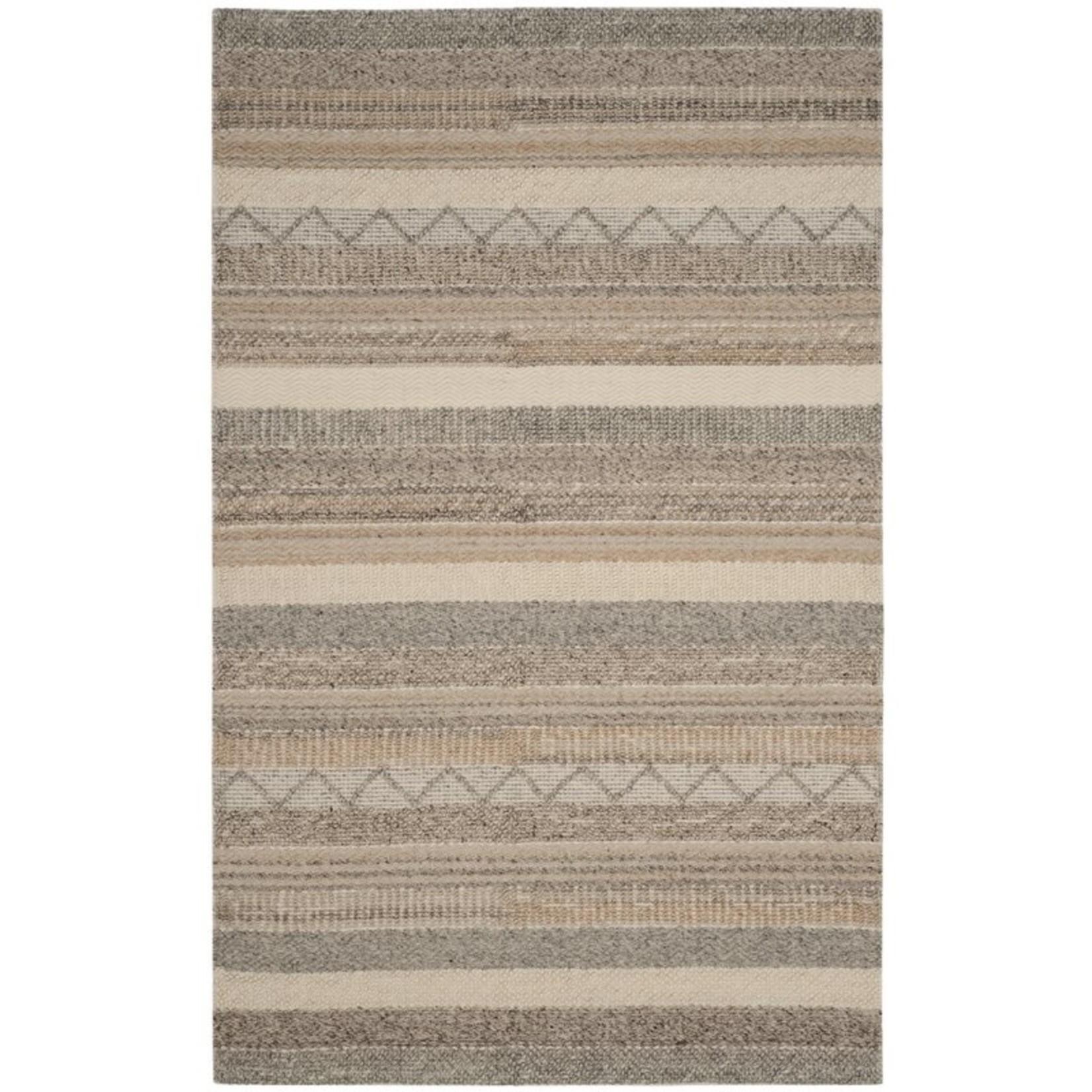 *3' x 5 -  Gifford Handmade Flatweave Beige/Ivory/Light Salmon Rug