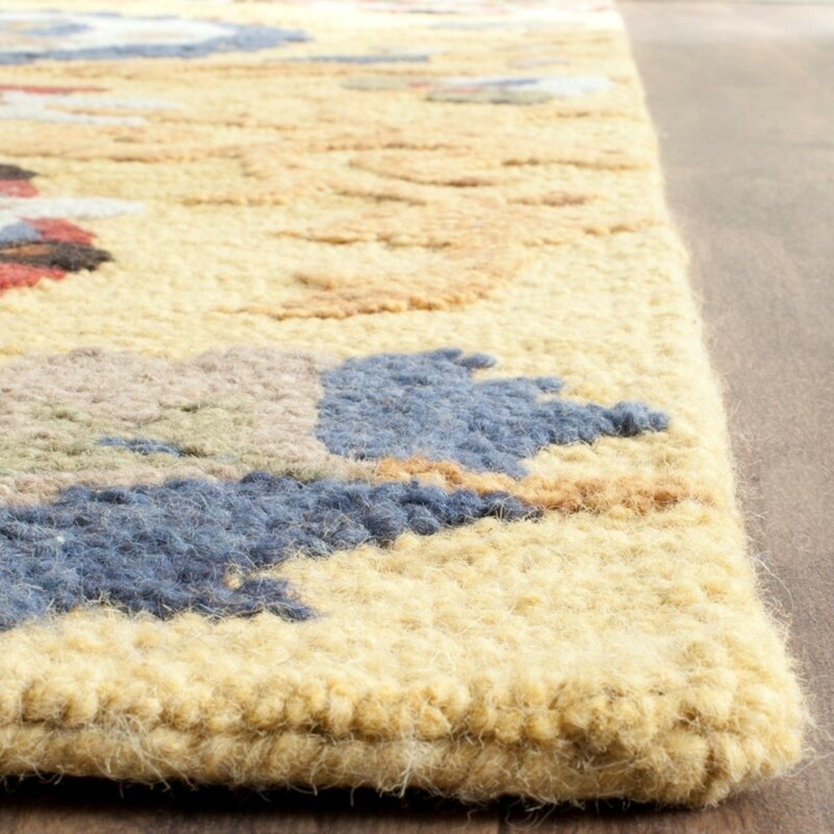 *2'3 x 8 - Elsner Hand-Tufted Wool Multicolor Area Rug