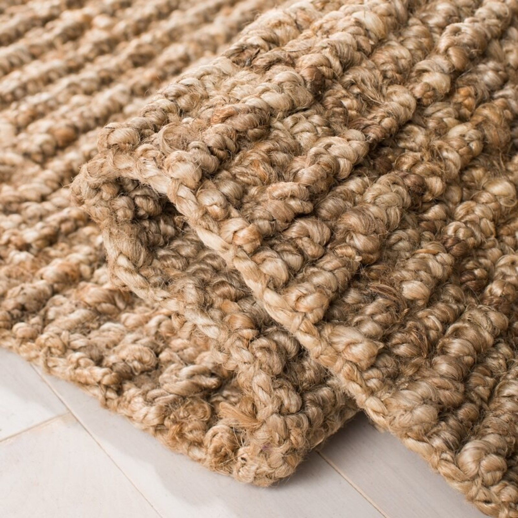 *2' x 3 - Grassmere Handmade Jute Natural Area Rug