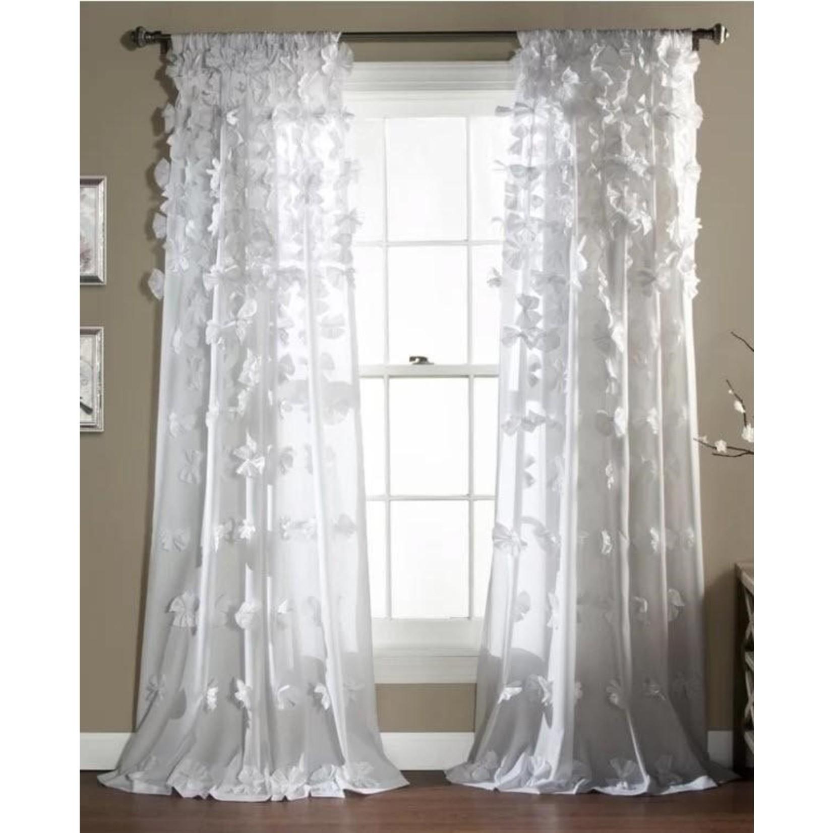 "*54"" x 84"" - Clarkstown Rod Pocket Single Curtain Panel"