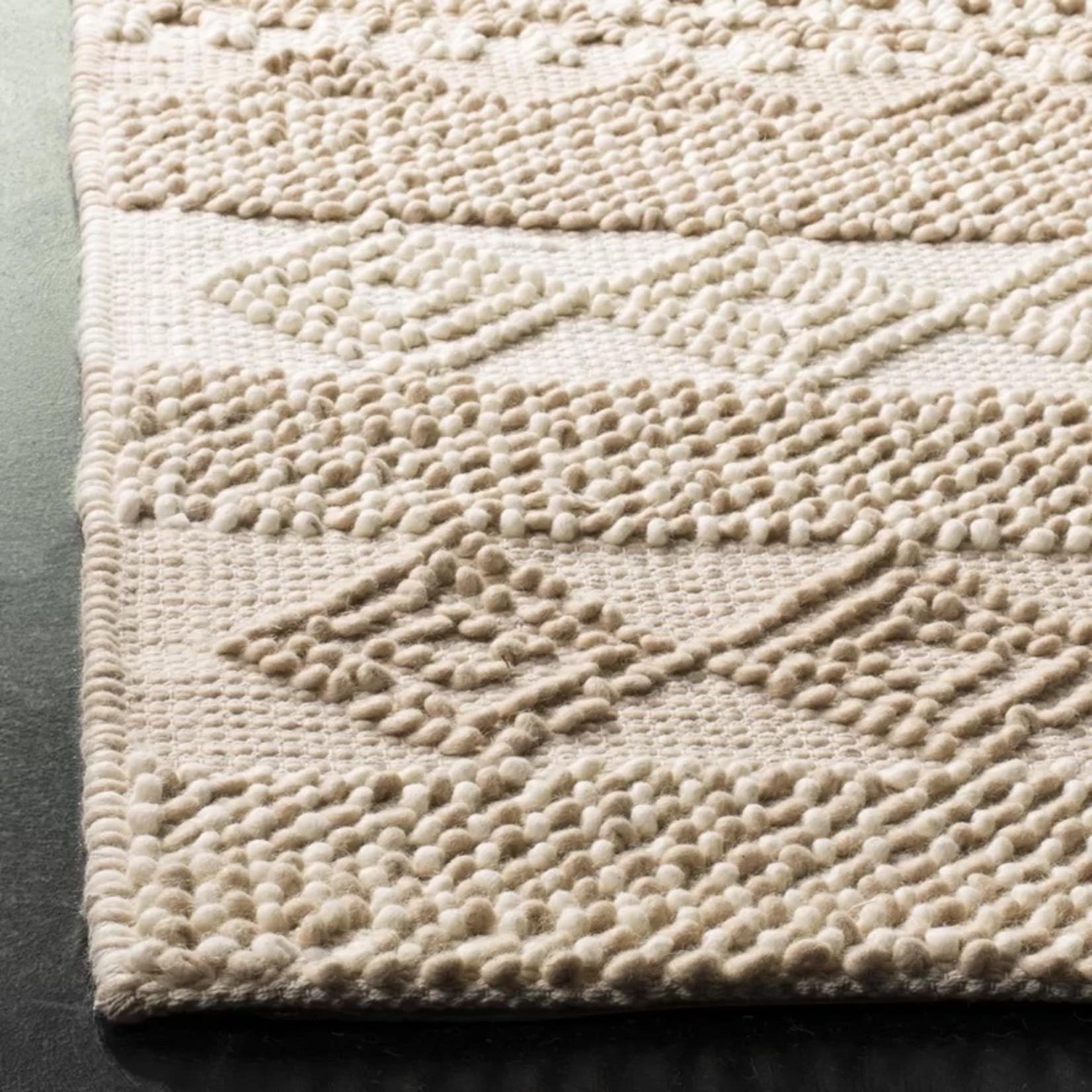 *3' x 5' -  Billie Geometric  Handmade Flatweave Beige/Ivory Area Rug