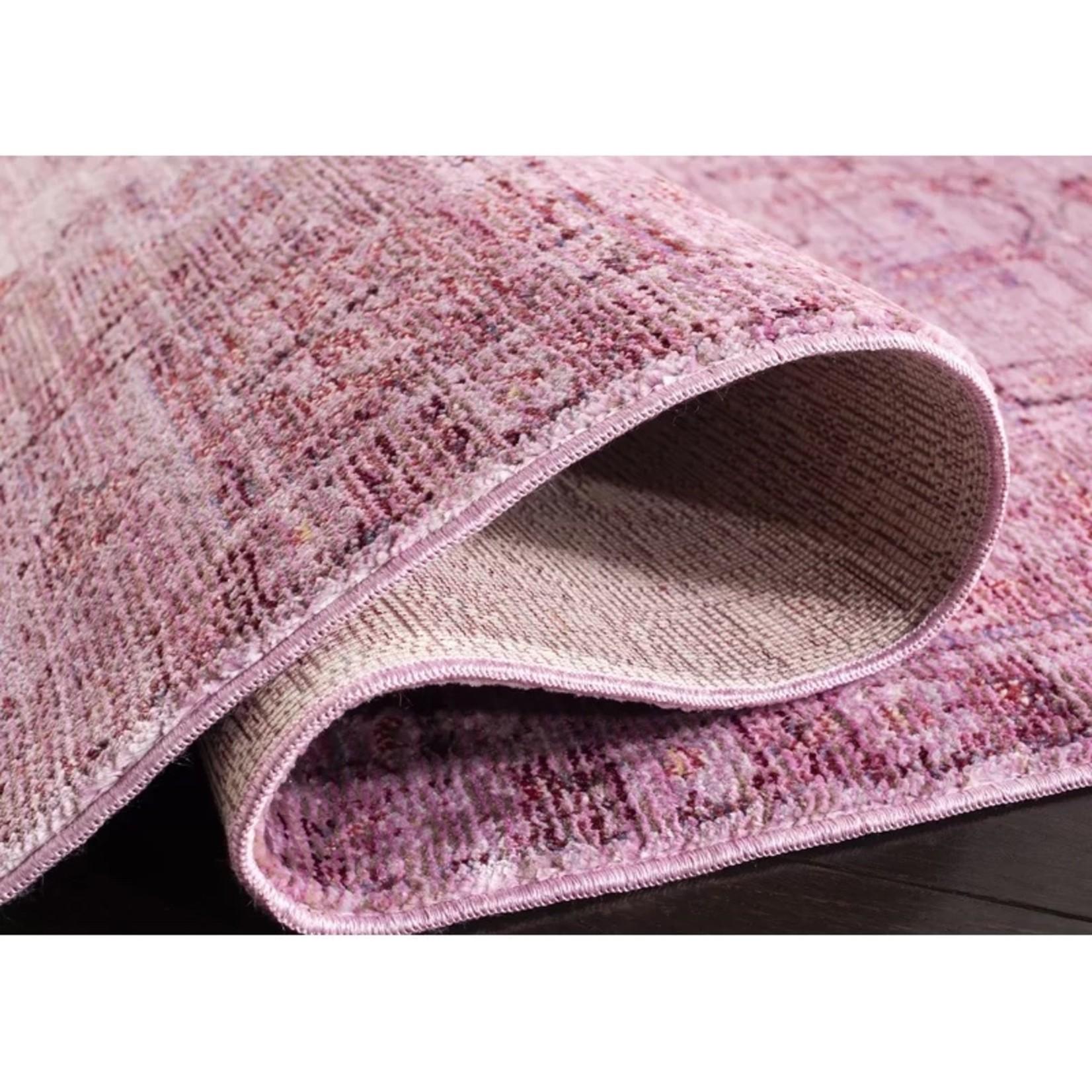 *4' x 6' -  Privette Oriental Purple Area Rug