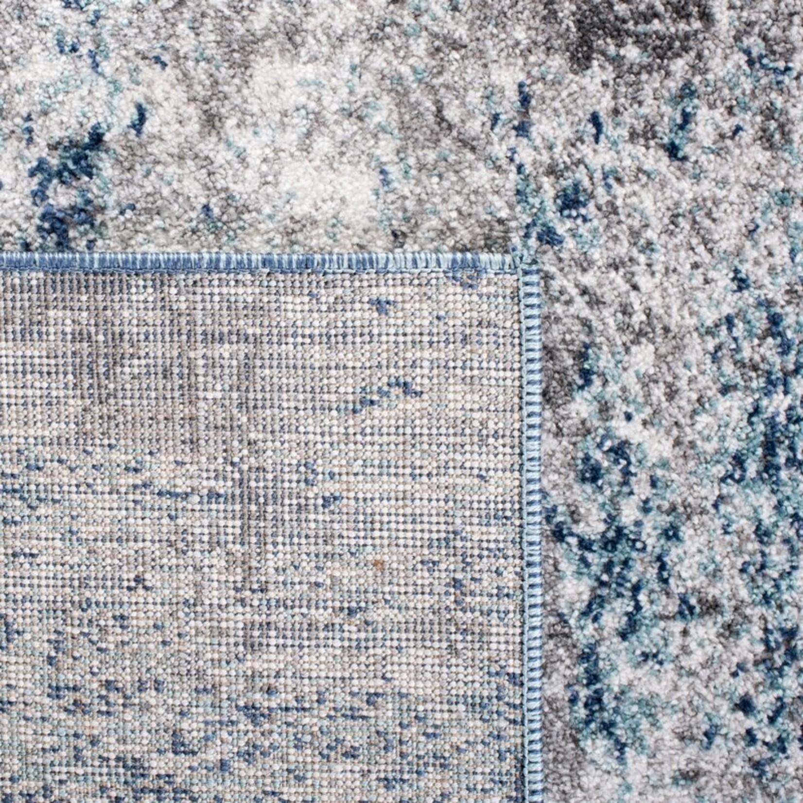 *3' x 5' -  Maxey Abstract Navy/Gray Area Rug