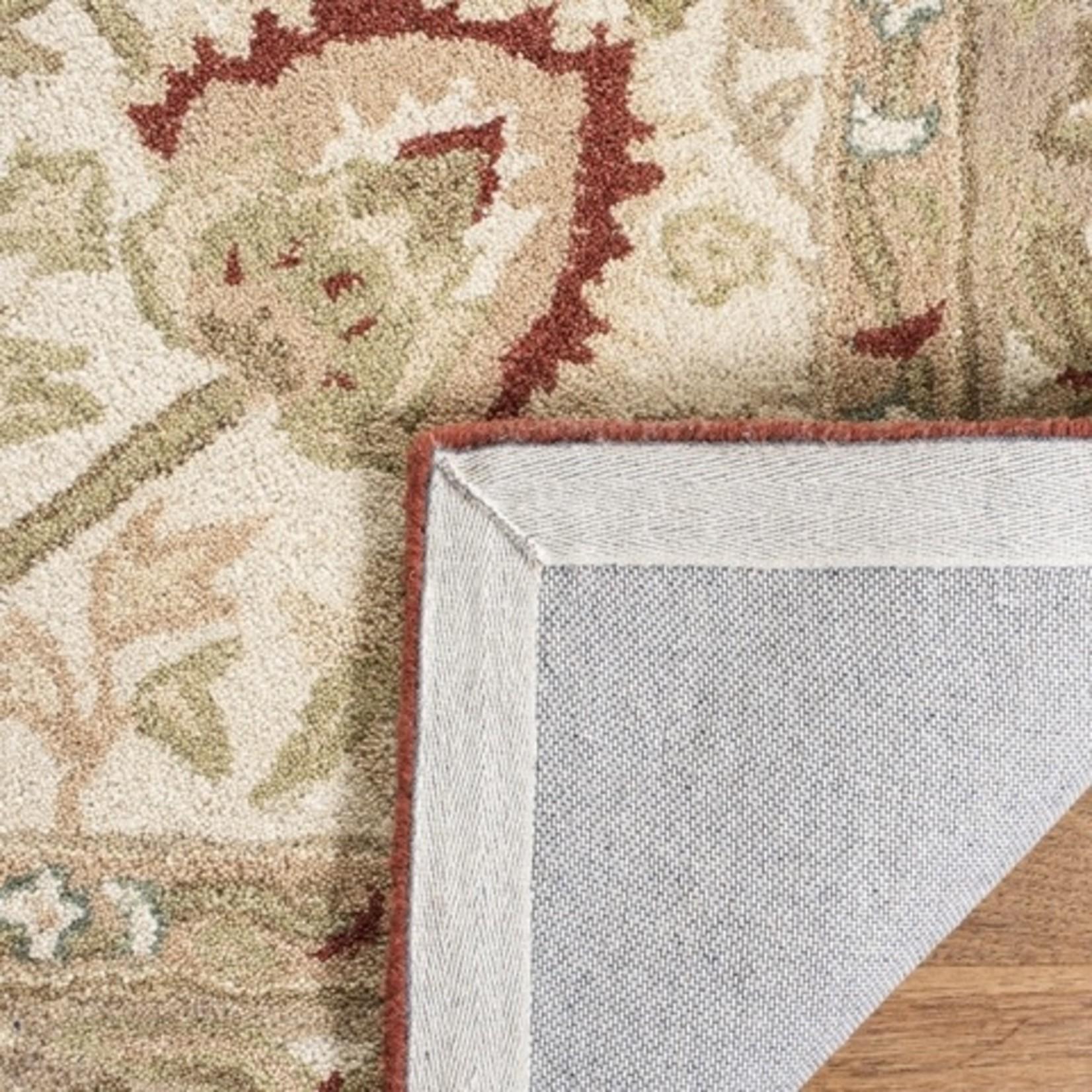 *2'3 x 10' - Anatolia Beige Rust Wool Rug