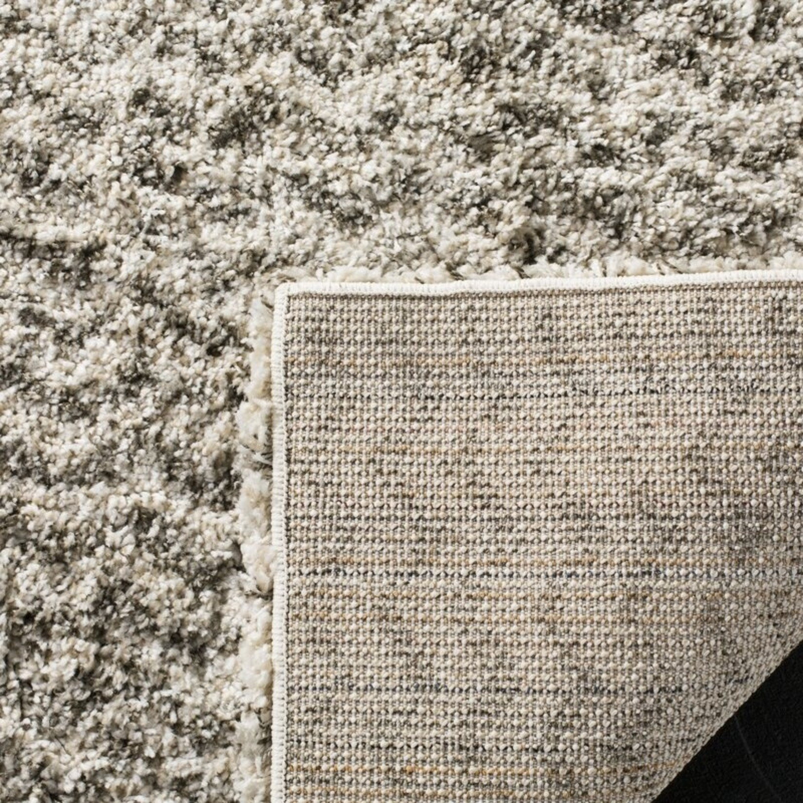 *3' x 5' -  Cammie Chevron Ivory/Gray Area Rug