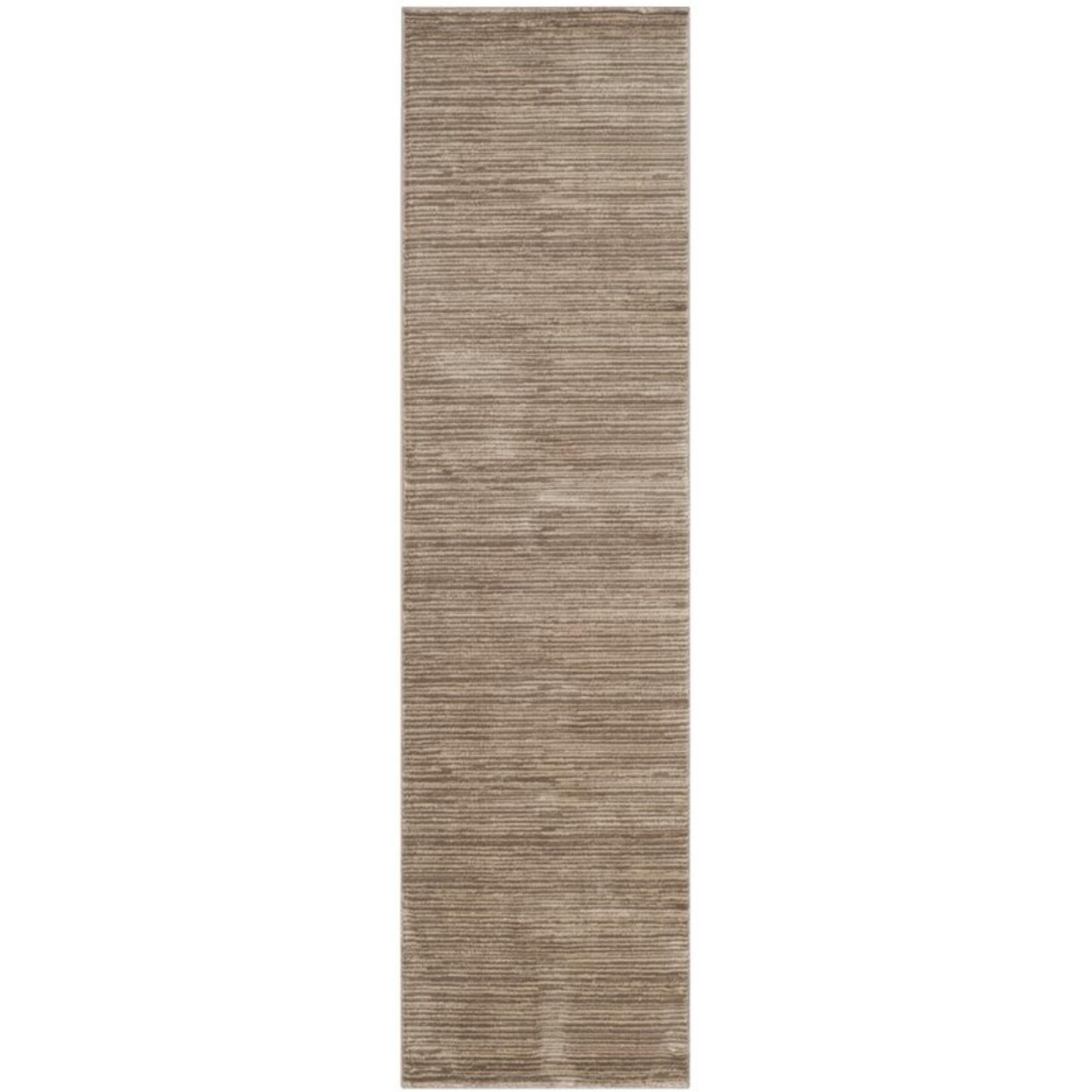 *2'2 x 8' -  Harloe Light Brown Area Rug