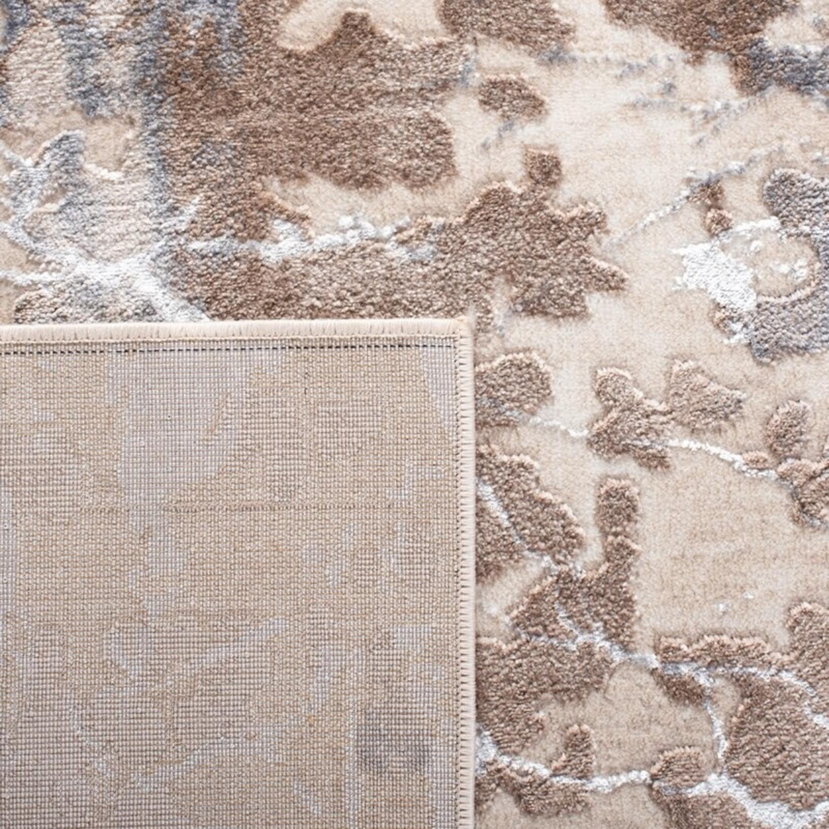 "*4'5 x 6'5"" -  Breide Ivory/Gray/Brown Area Rug"