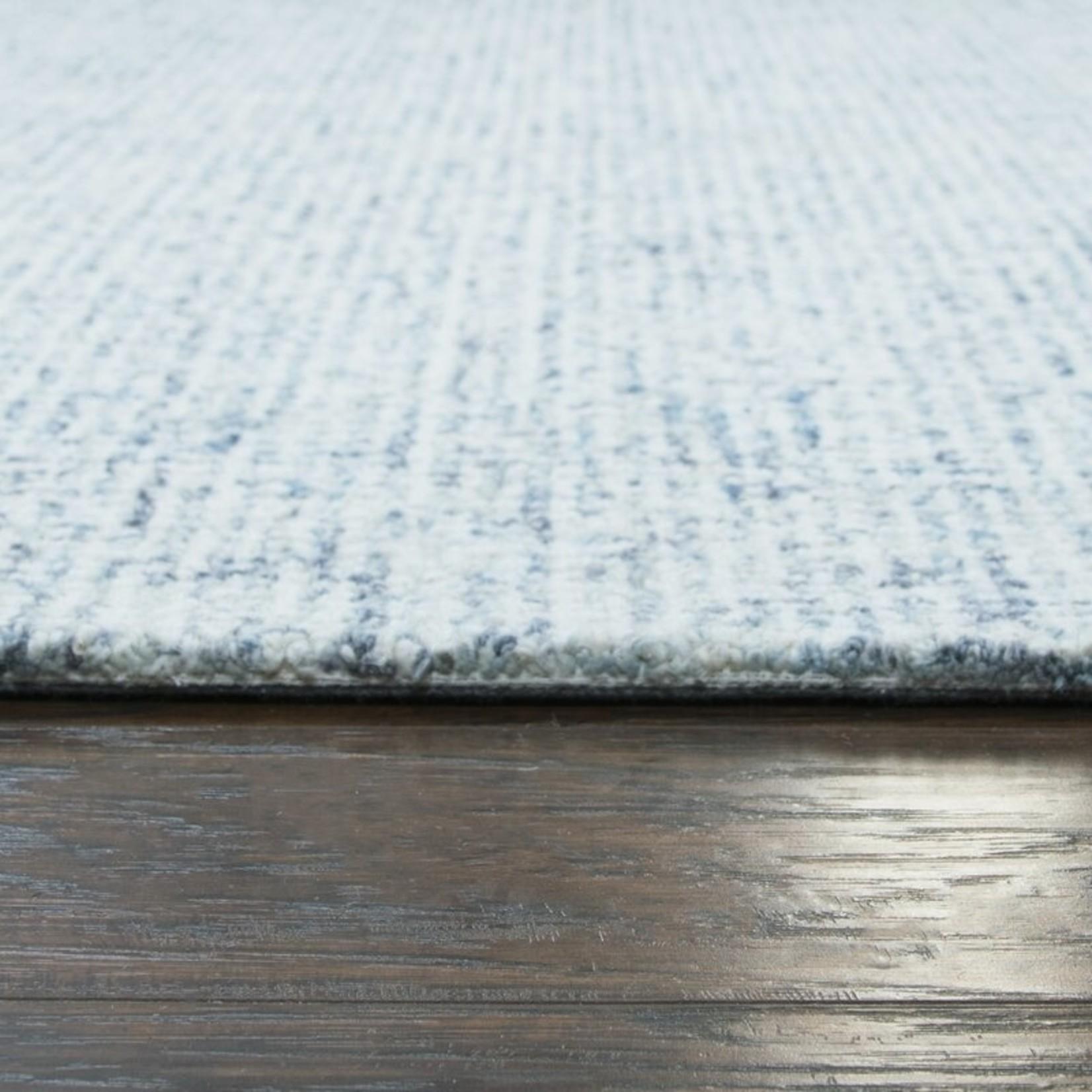 *2'6 x 8' -  Kerley Handmade Tufted Wool Light Blue Area Rug