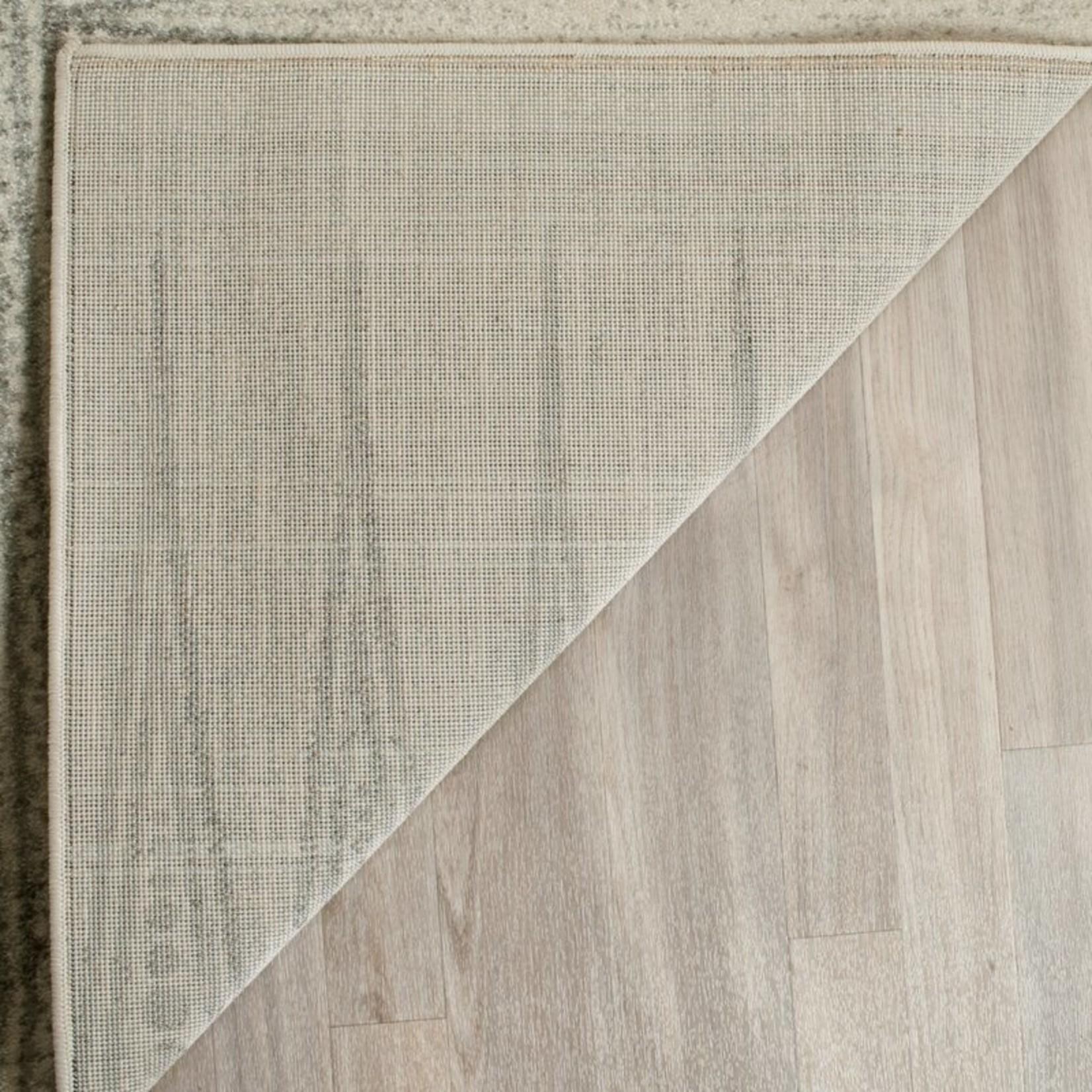 *2'2 x 4' -  Elson Southwestern Ivory/Silver Area Rug *Marks On Edge*